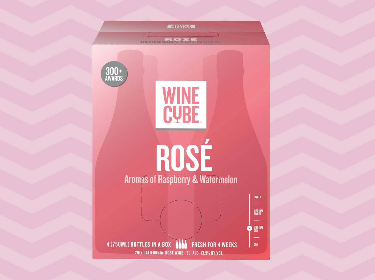 Wine Cube Rose