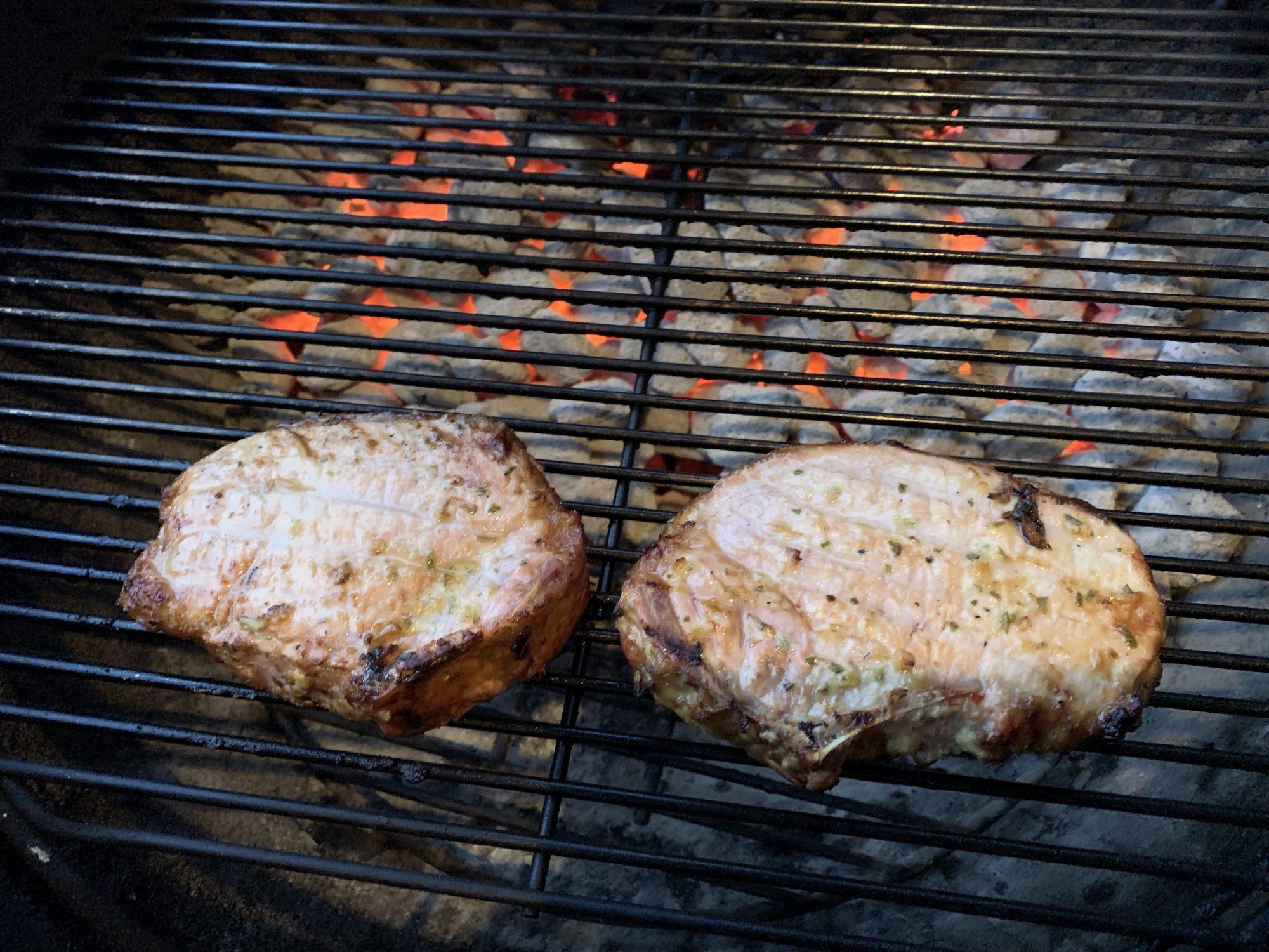 porkchop-grilling