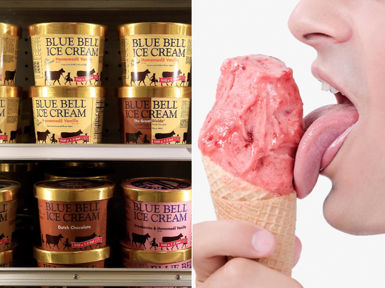 Ice cream licker, Getty