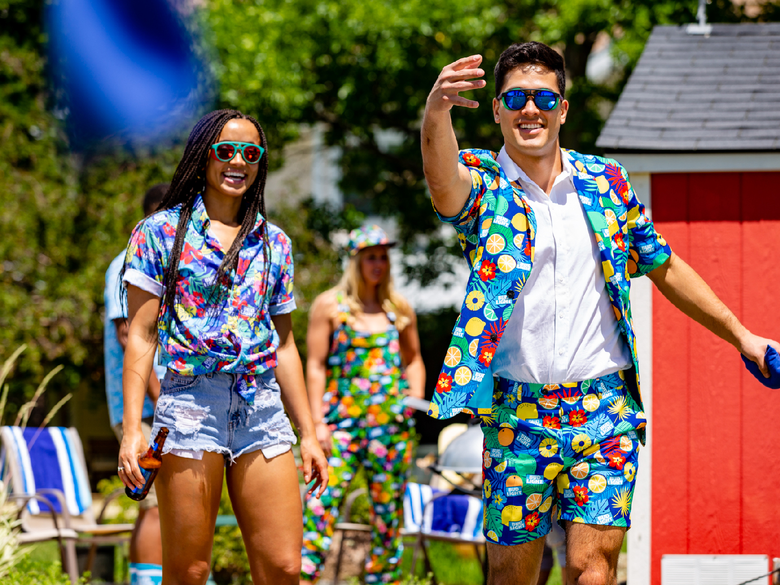 Bud Light's 'Pajameralls' Are Sure to Turn Heads At Your Next Cookout bud-light-blazer-FT-BLOG0719