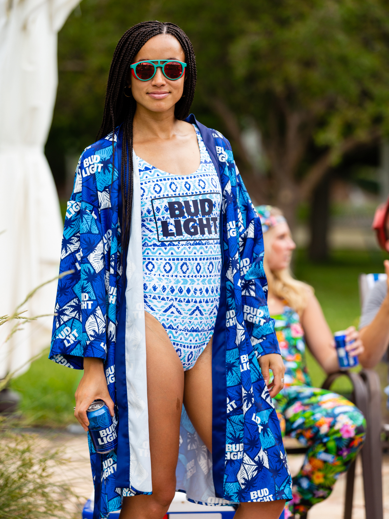 Bud Light's 'Pajameralls' Are Sure to Turn Heads At Your Next Cookout bud-light-kimono-VT-BLOG0719