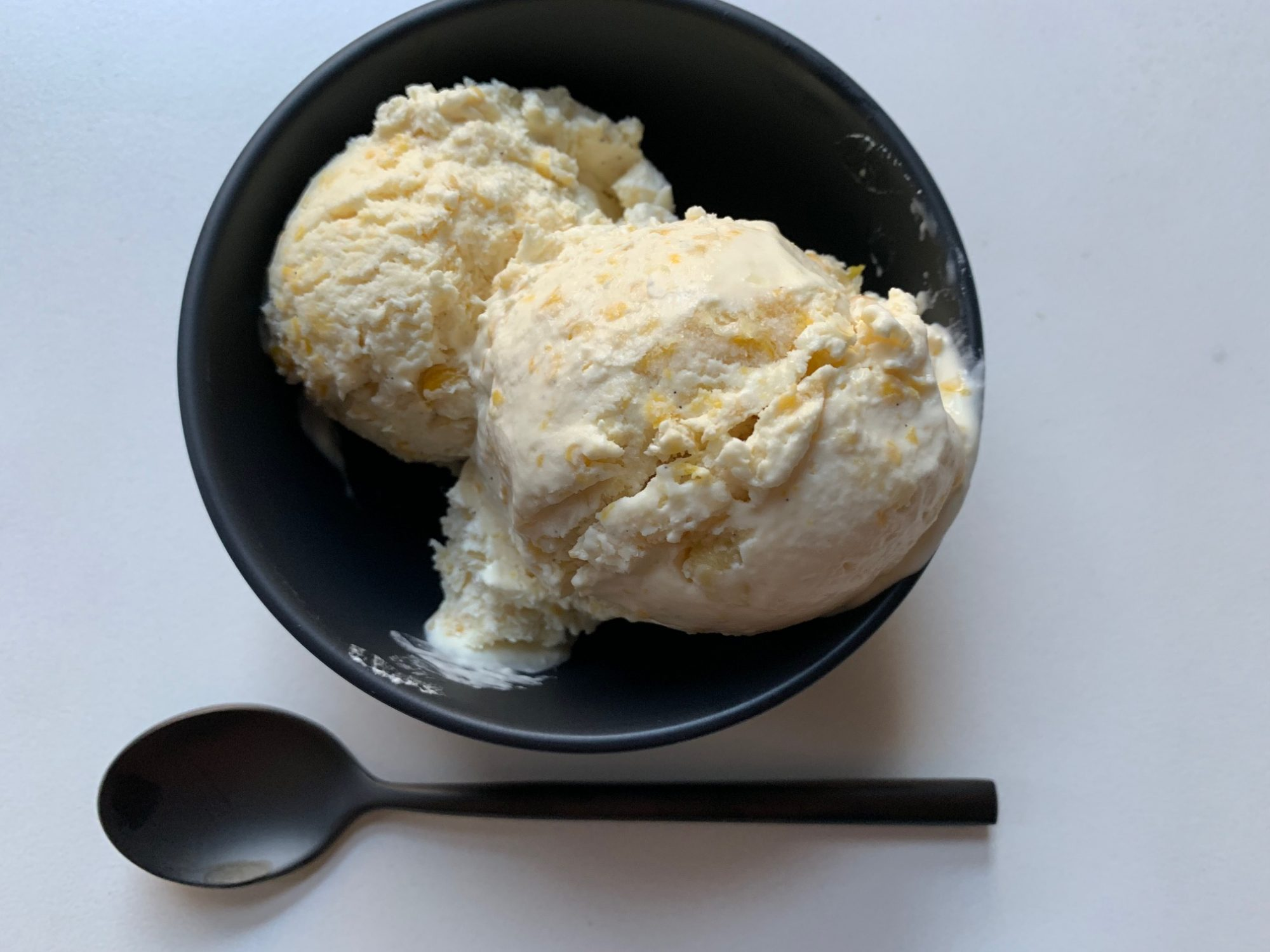 Sweet Corn No-Churn Ice Cream