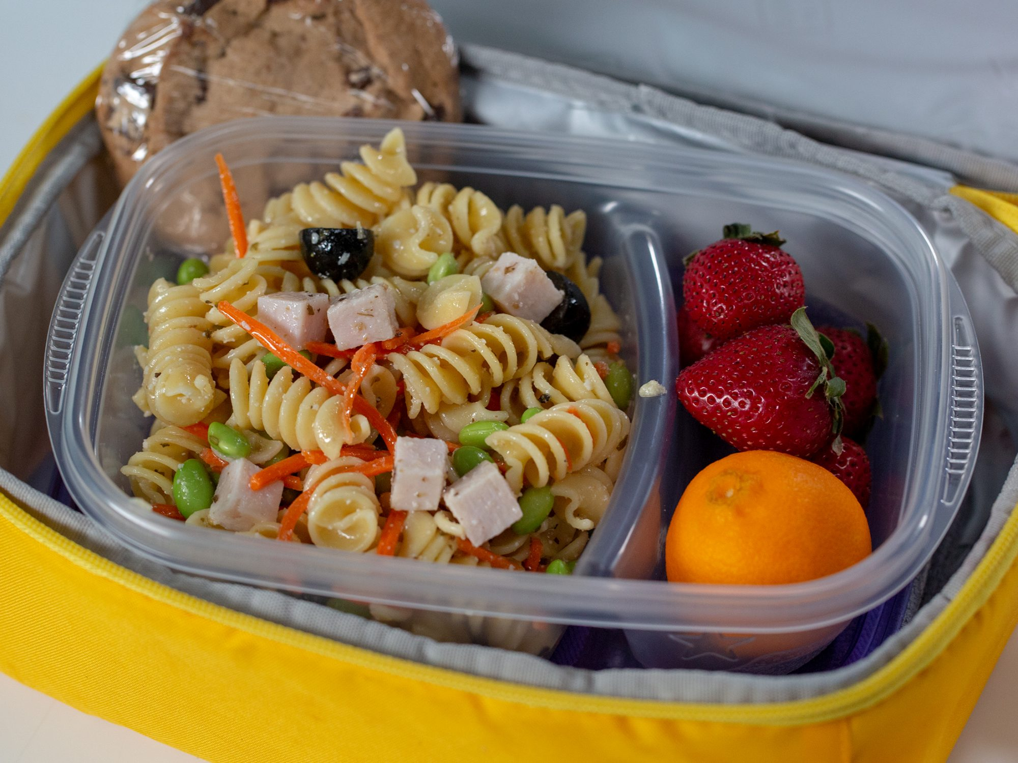 Leftovers Lunchbox Pasta Salad image