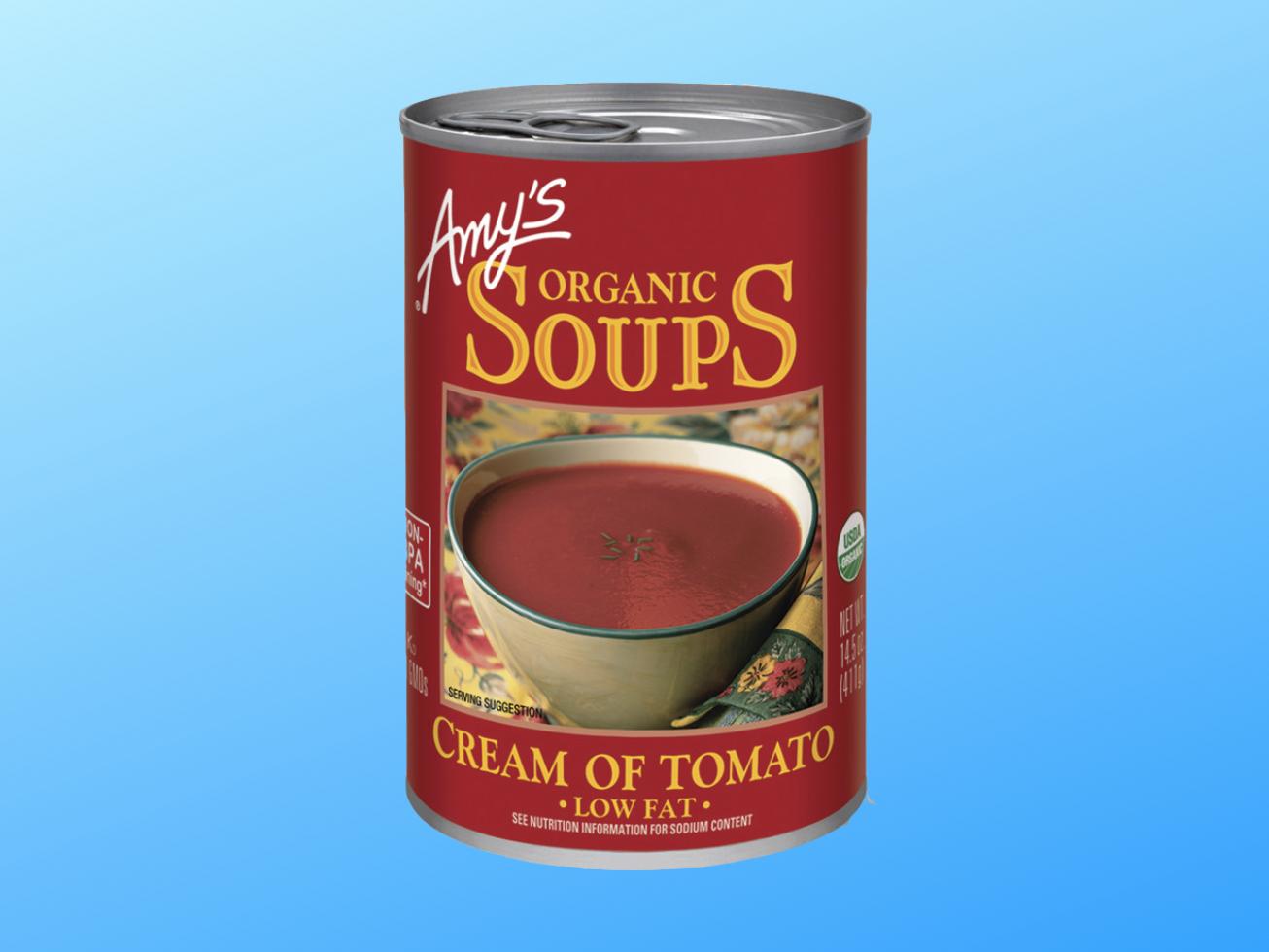 Amy's Cream of Tomato