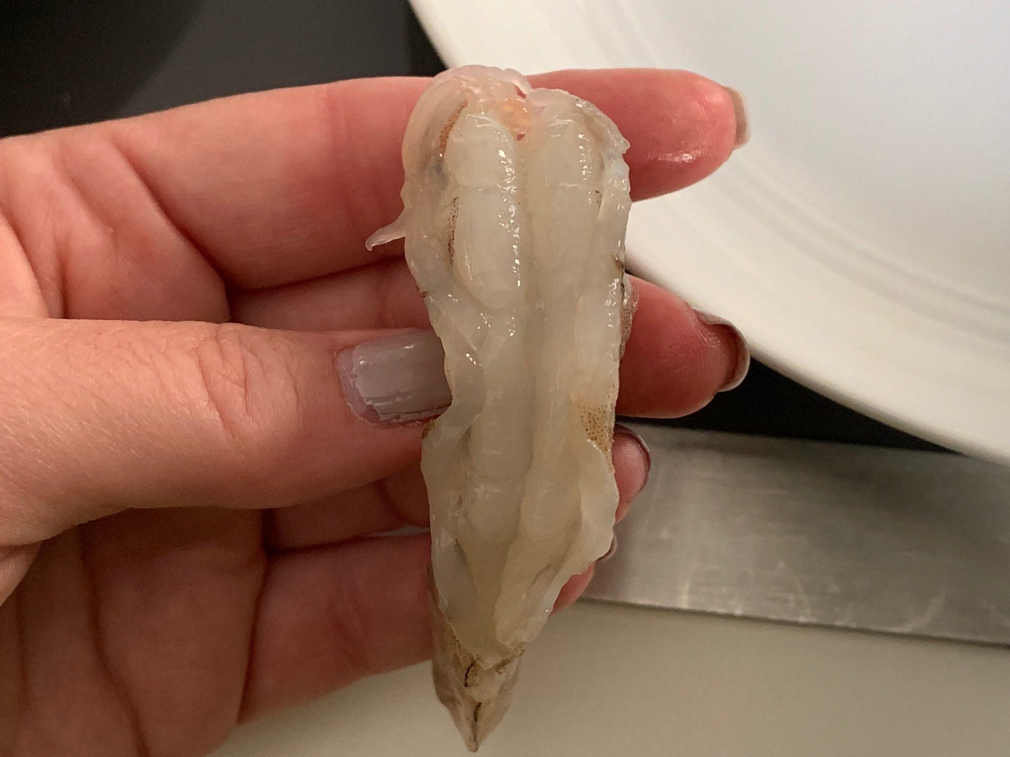 deveined raw shrimp