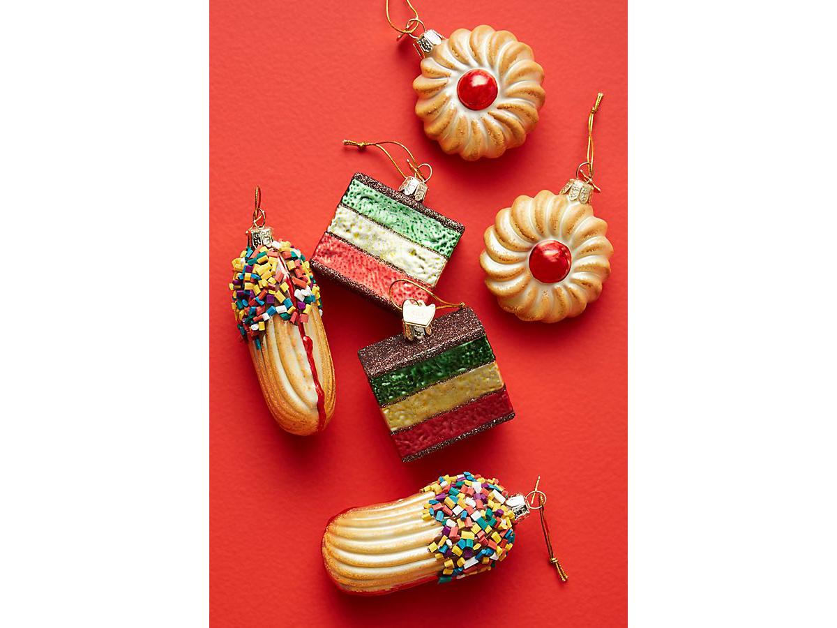 Italian Cookie Ornaments, Set of 6