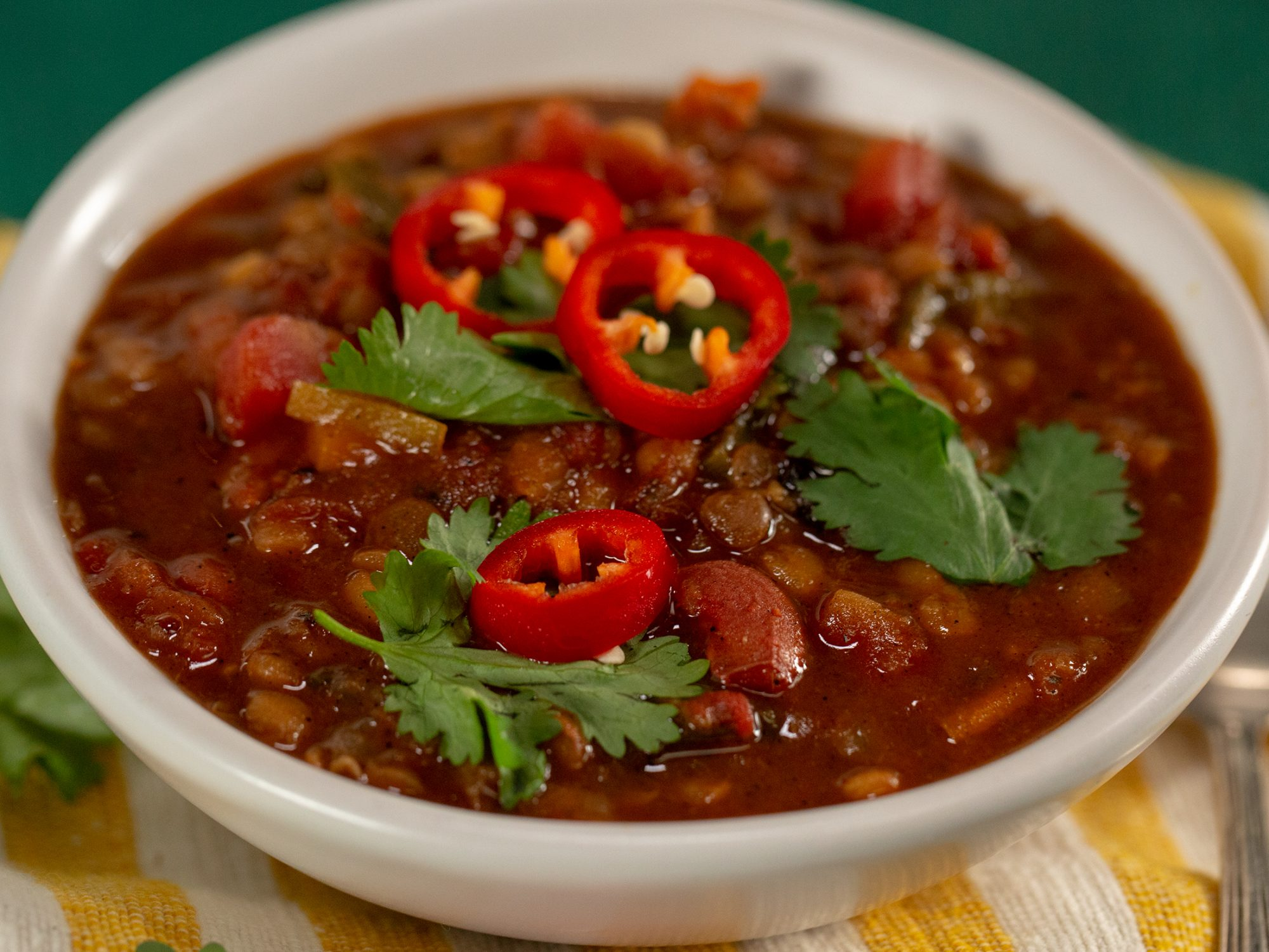Instant Pot Vegan Beer Chili image
