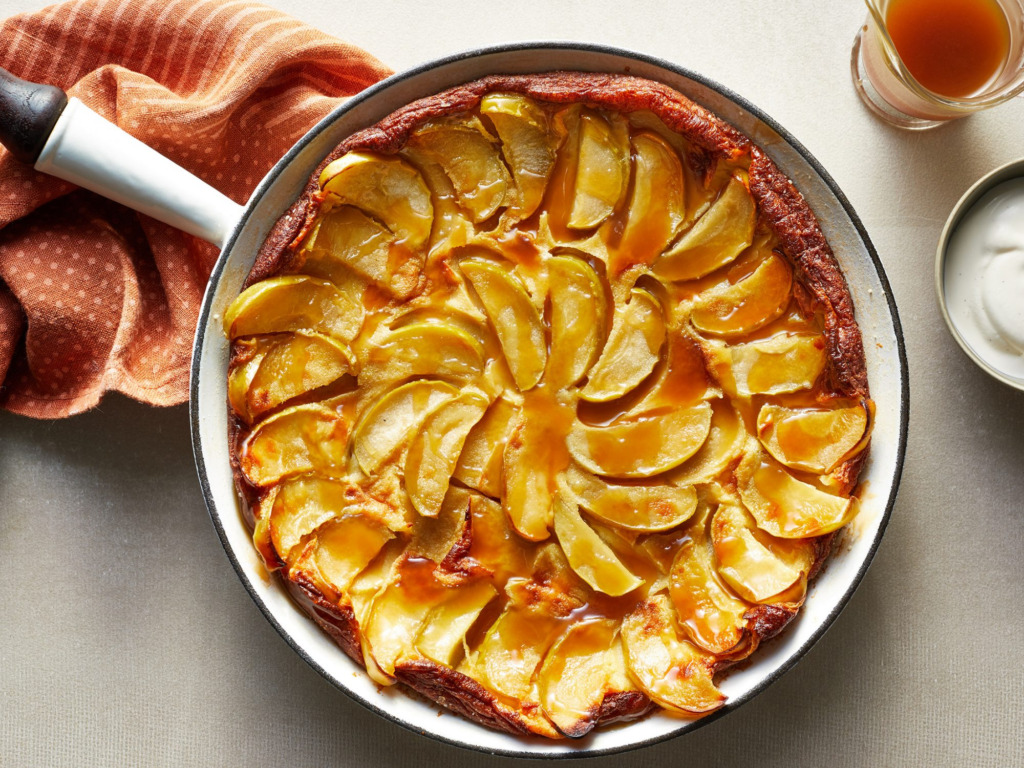 Maple-Caramel Apple Clafoutis image