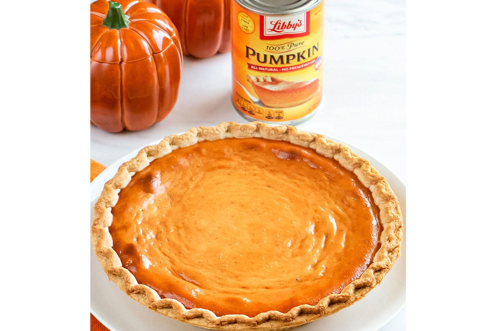 New Libby's Pumpkin Pie