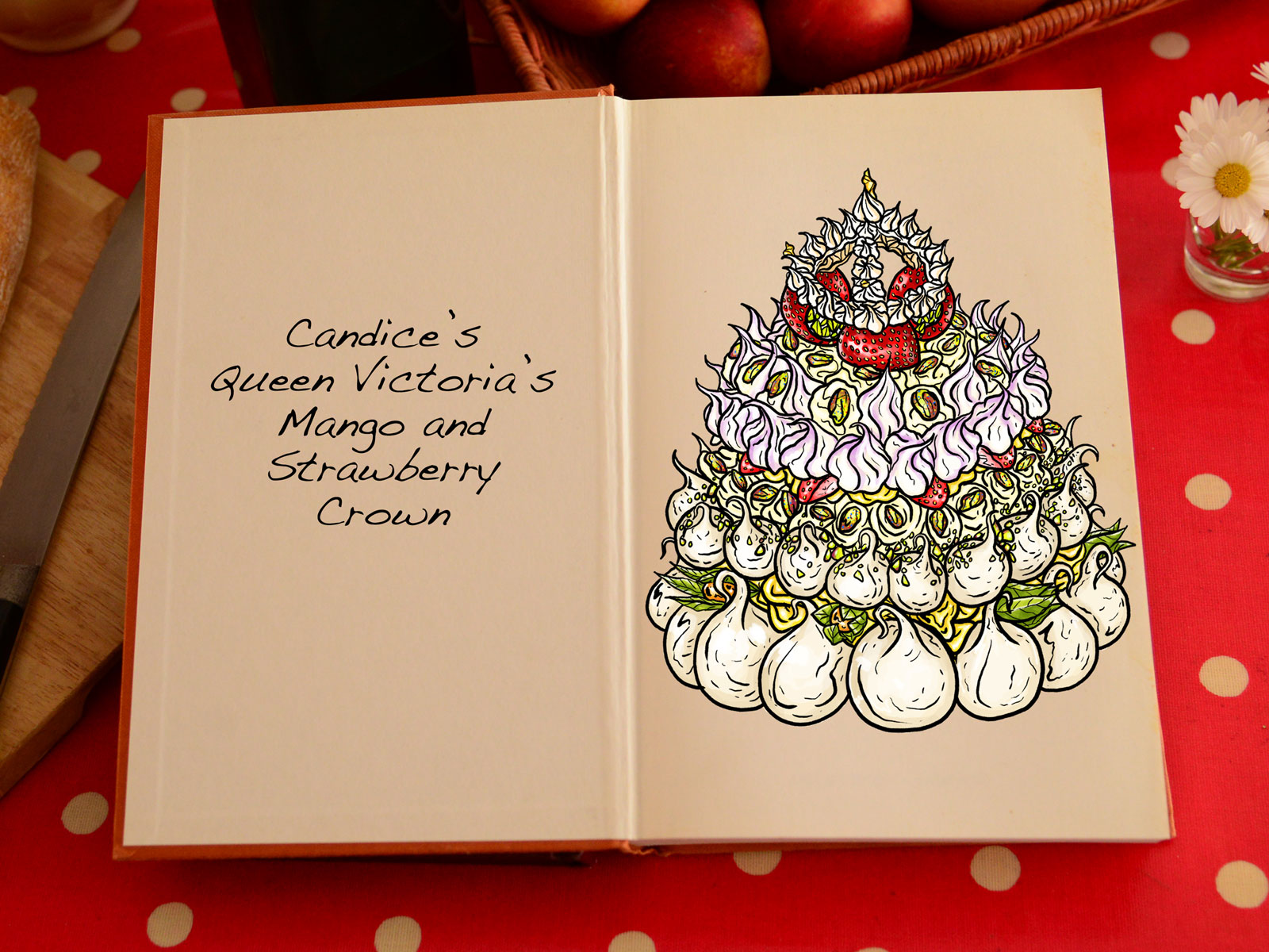 You Can Buy Those Cake Illustrations from 'The Great British Baking Show'
