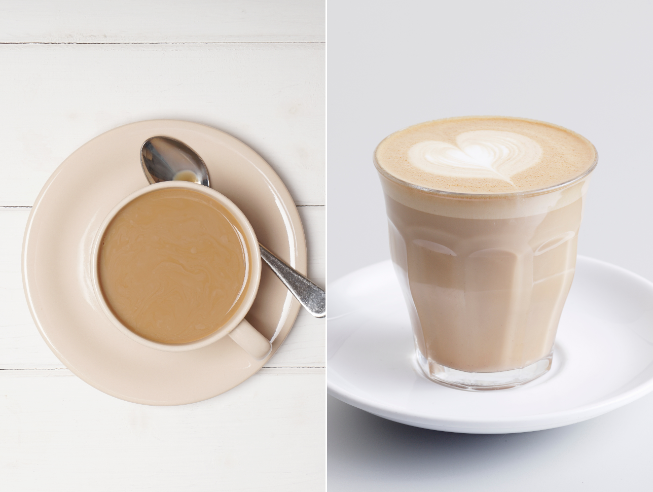 Cafe au Lait vs Latte Getty 10/15/19