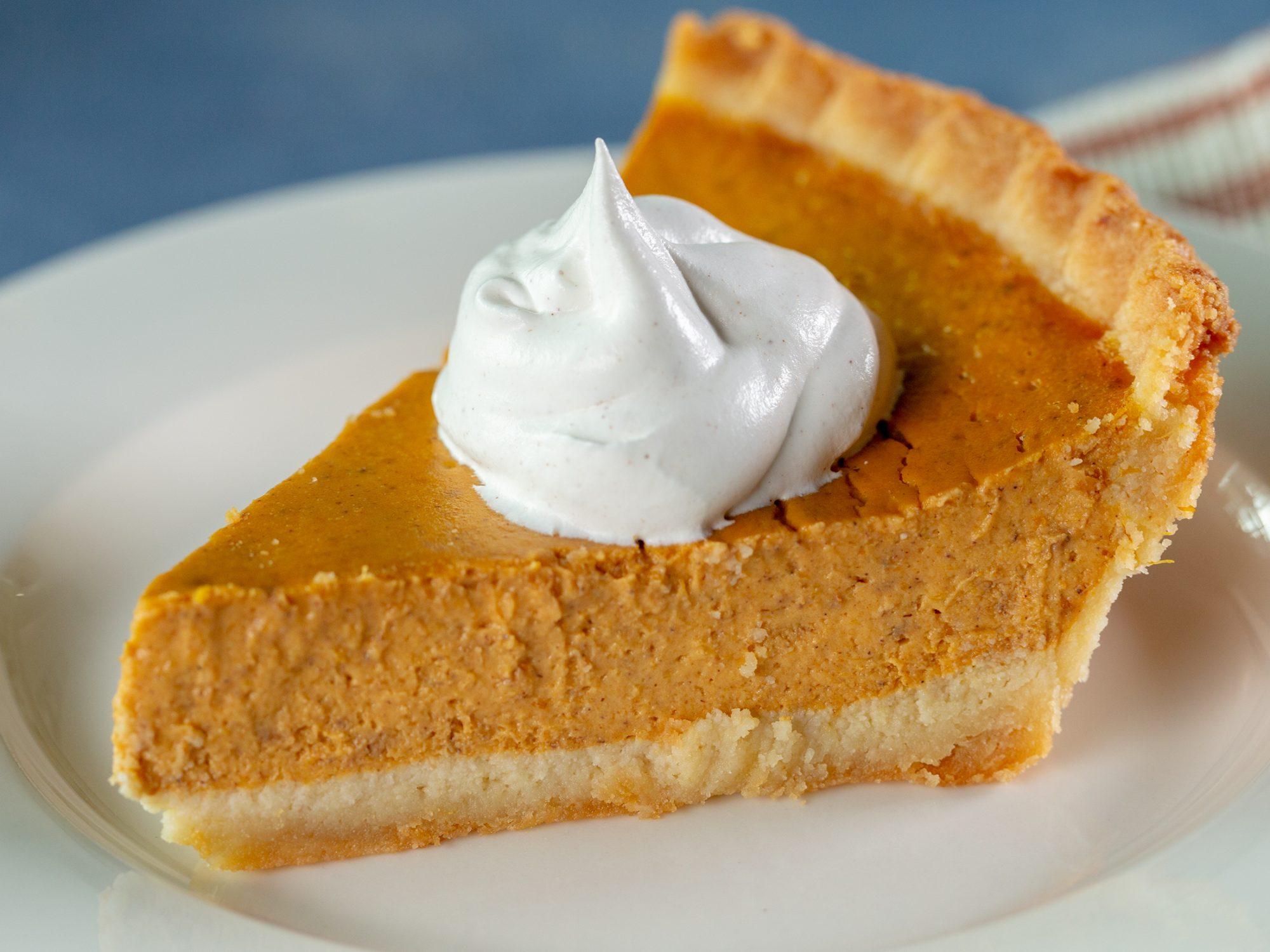Keto Pumpkin Pie image