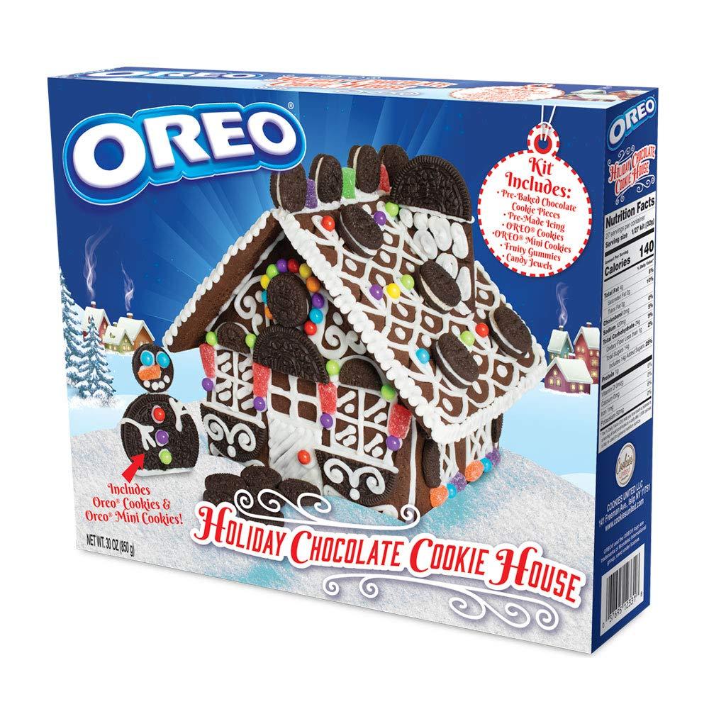 oreo gingerbread kit package