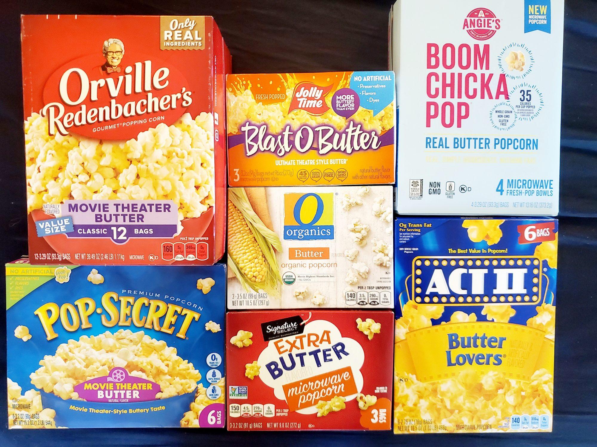 Microwave Popcorn Taste Test
