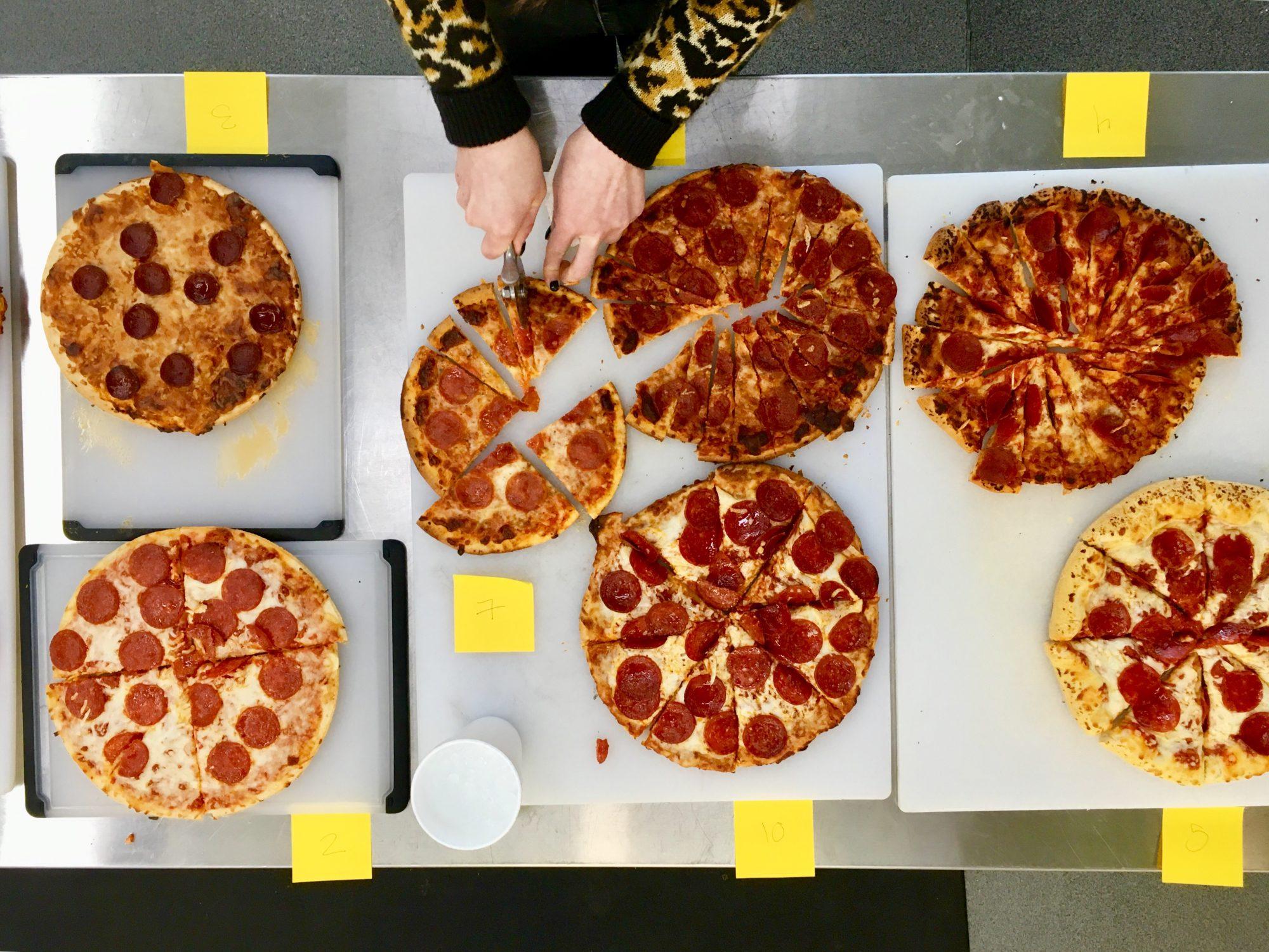 pepperoni pizza taste test