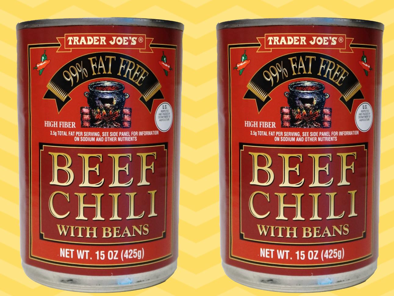 Trader Joe's Chili