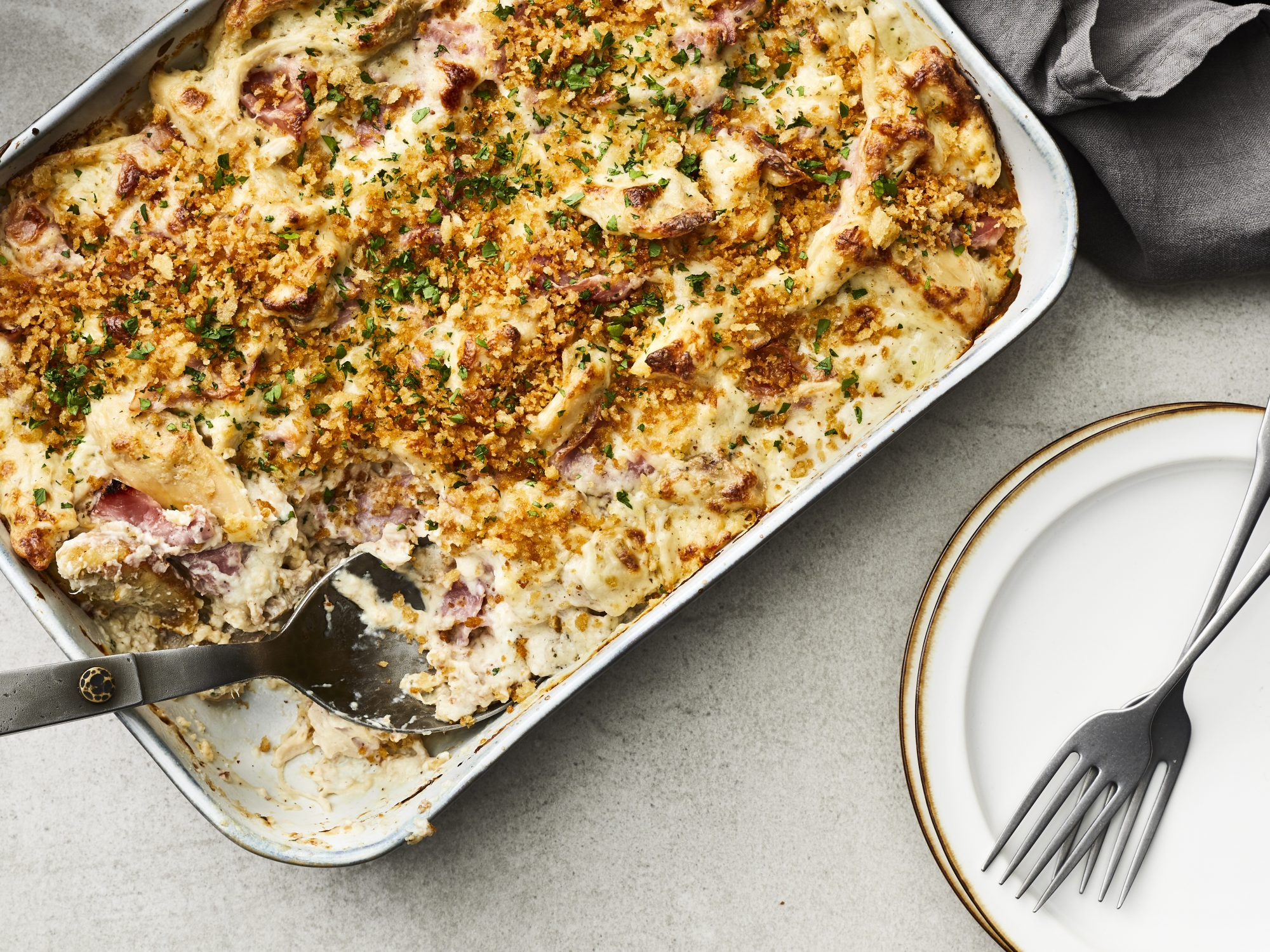mr- Chicken Cordon Bleu Casserole image