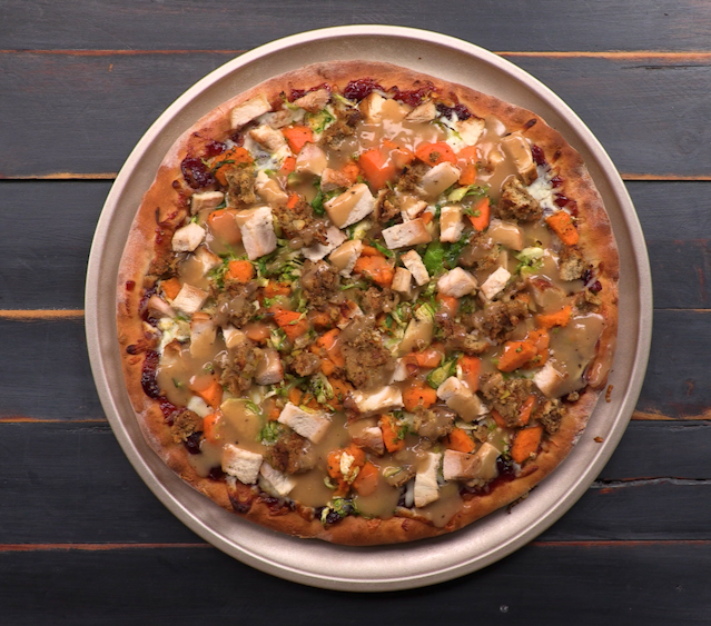Thanksgiving Pizza image