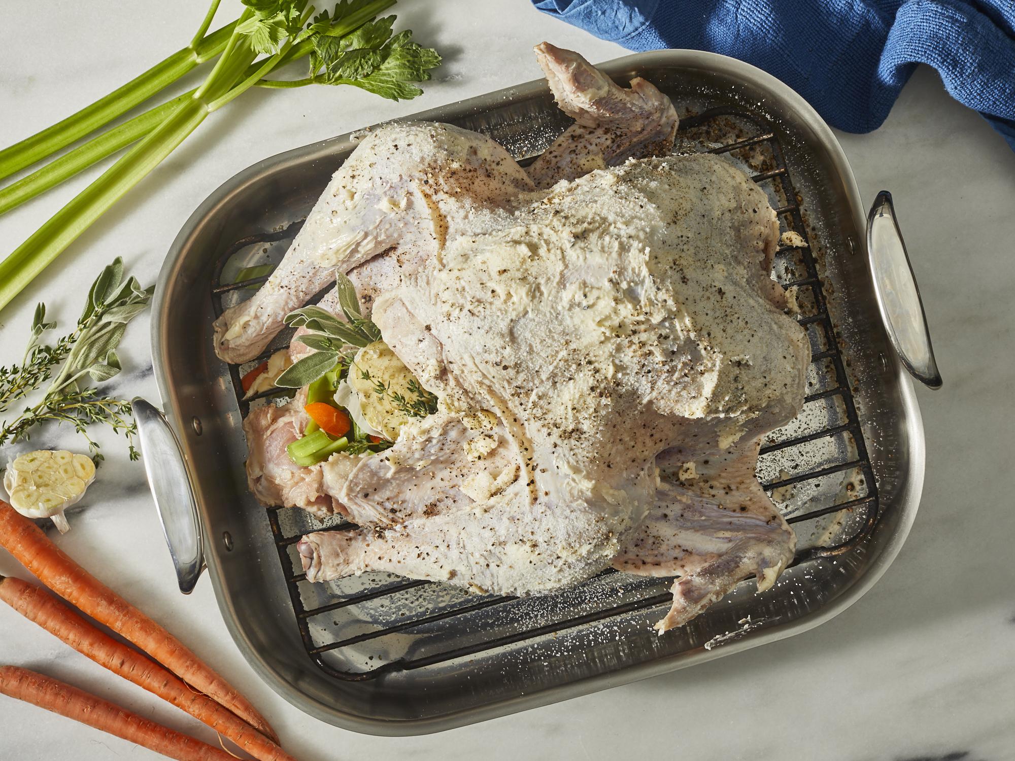 MR-Perfect Roast Turkey Stuffed