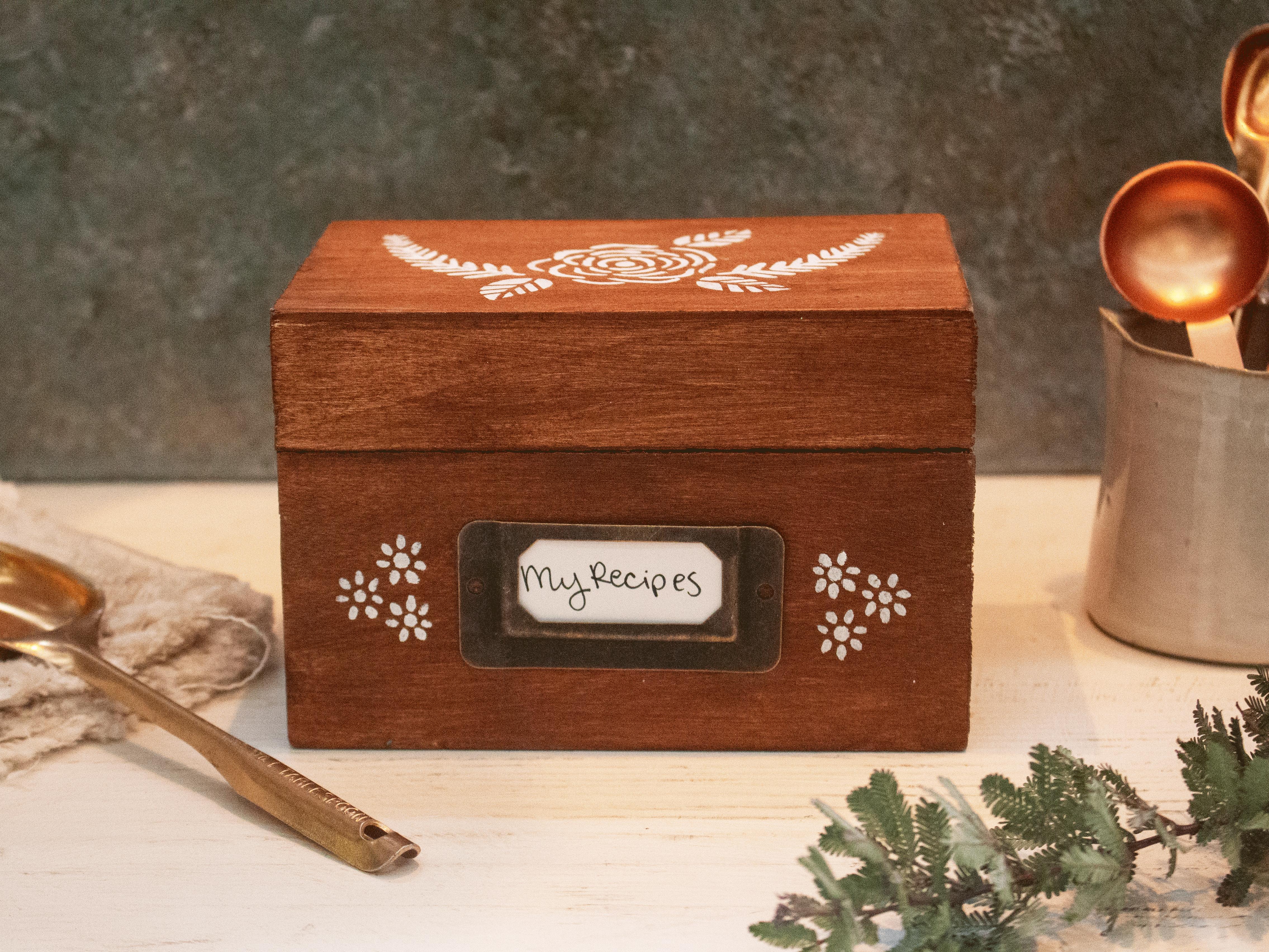 Recipe Box Tout