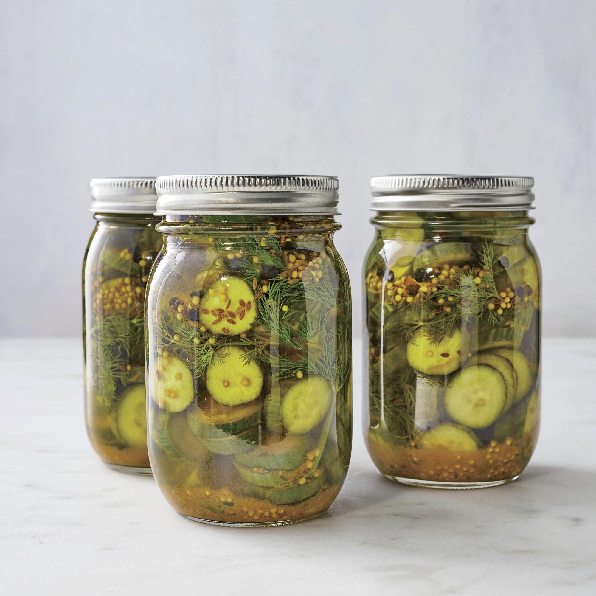Turmeric-Dill Cucumbers