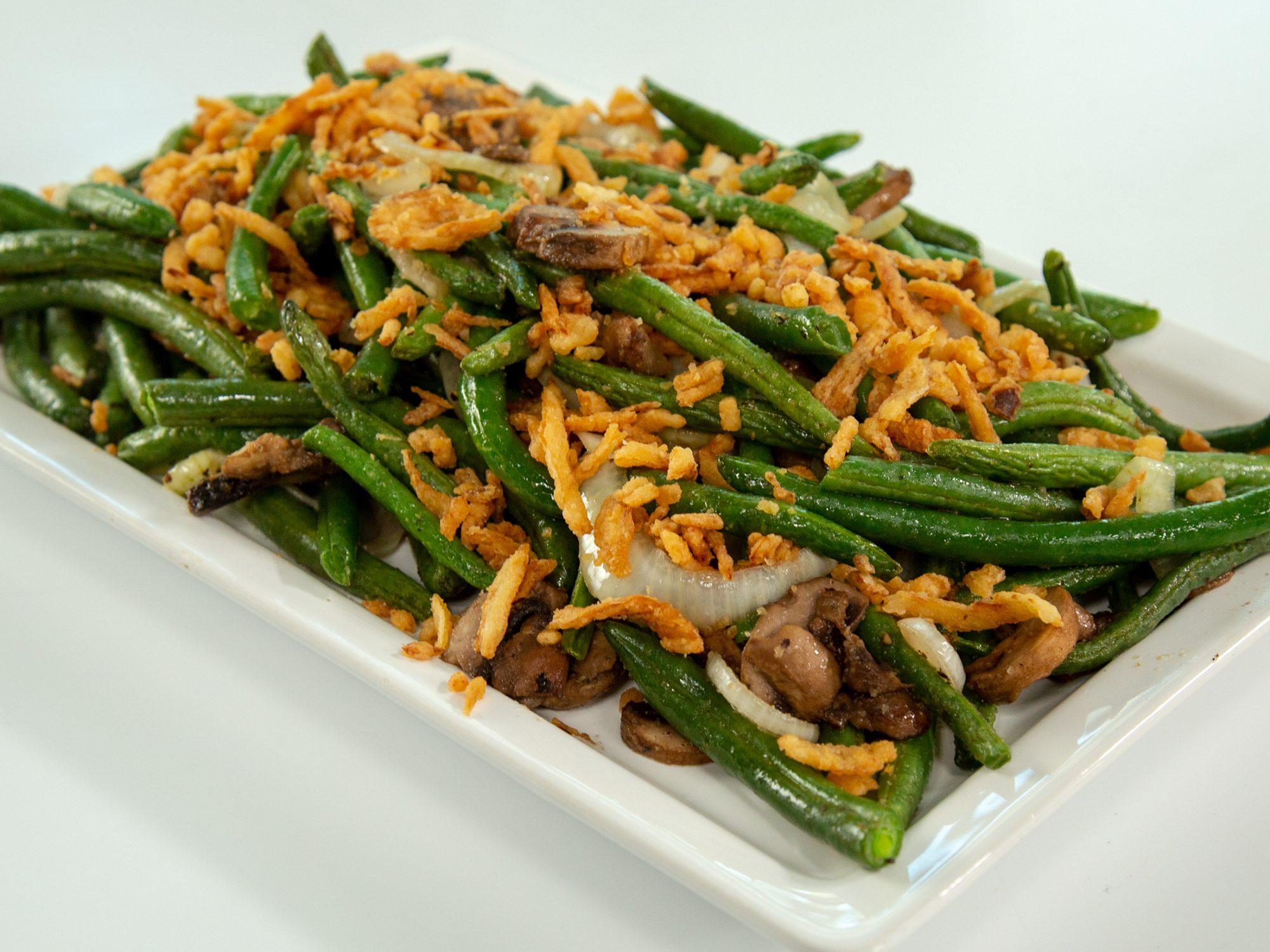 Air Fried Green Bean Casserole image