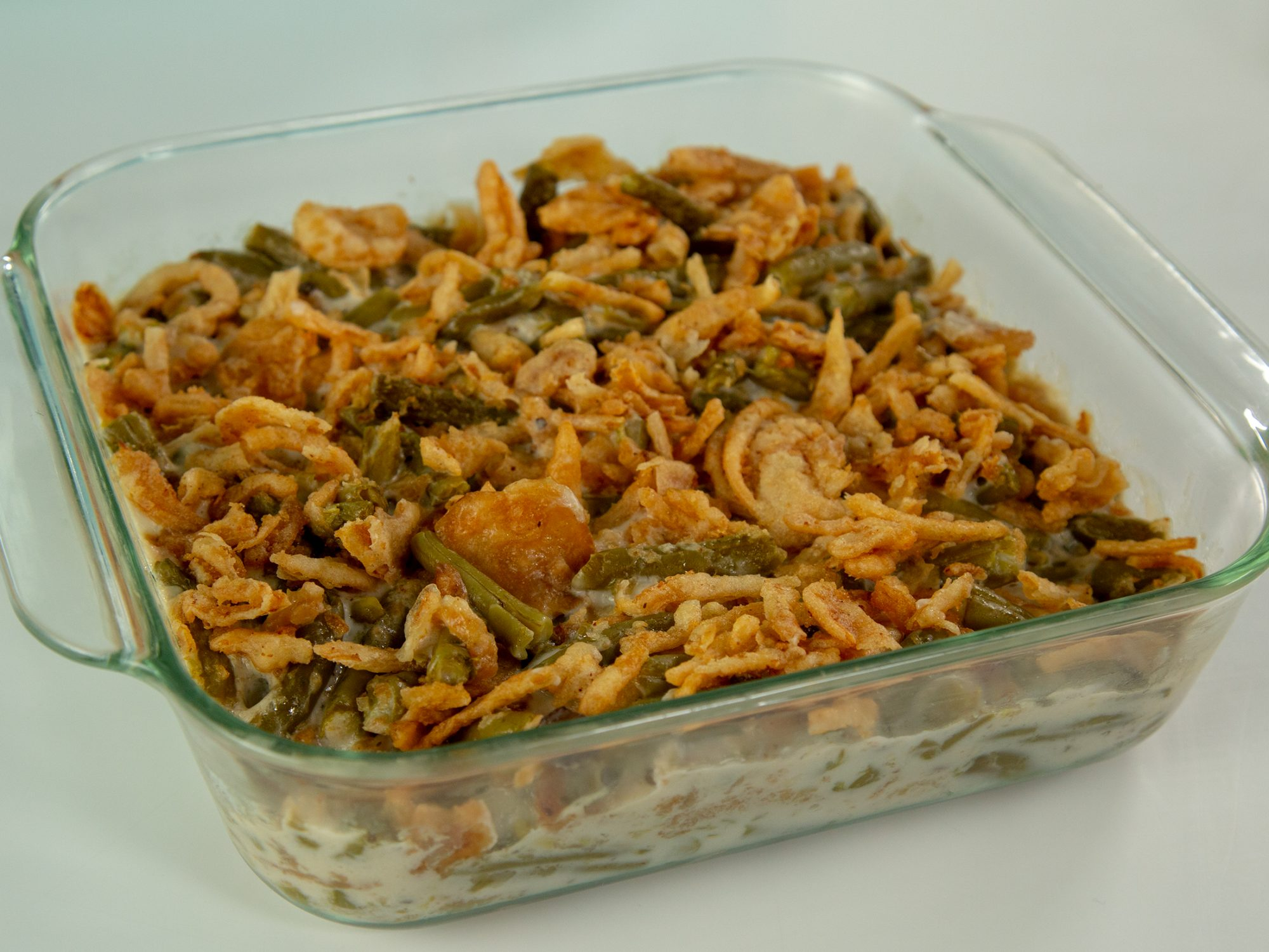 Microwave Green Bean Casserole image