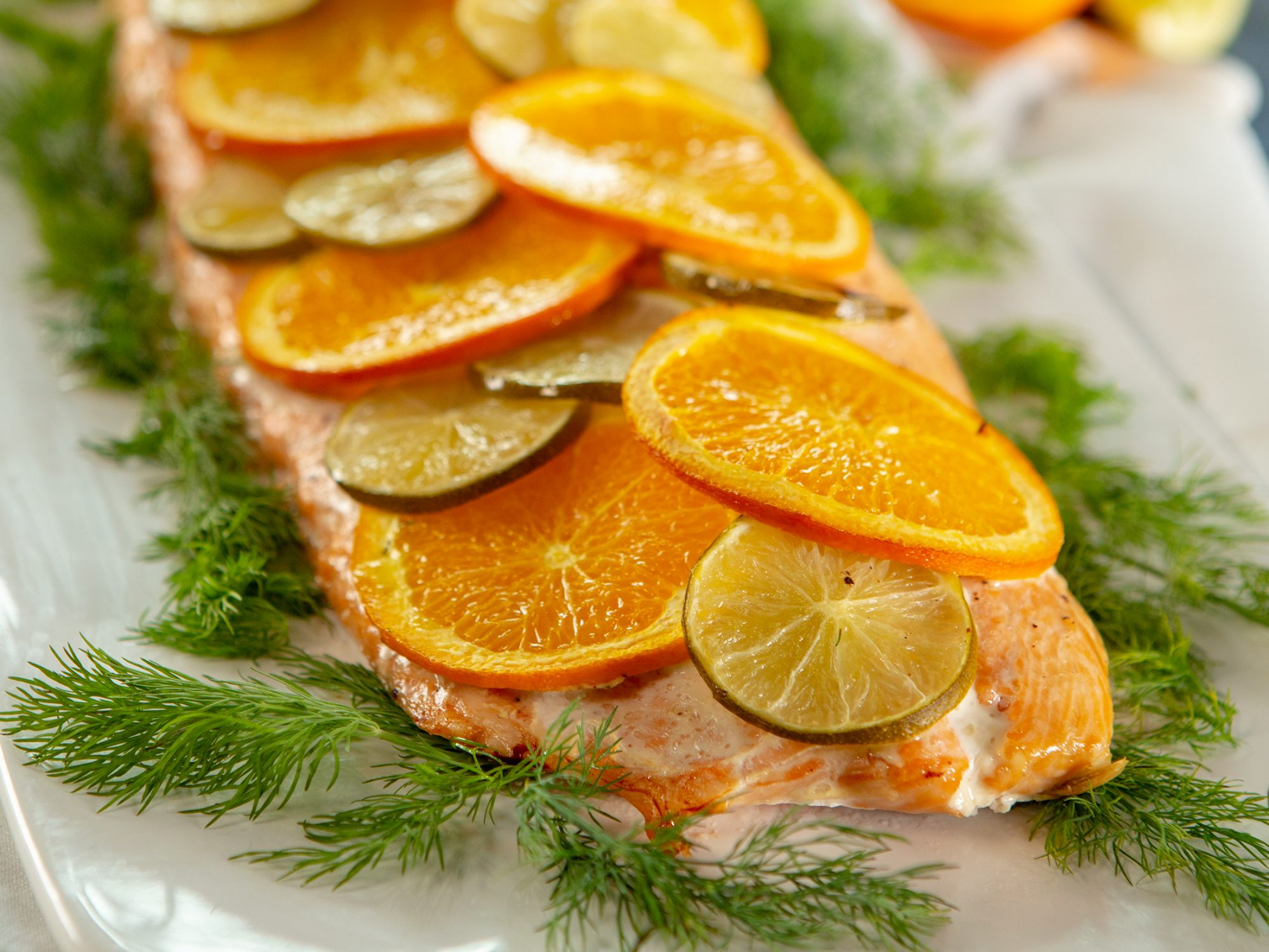 Citrus Roasted Salmon image