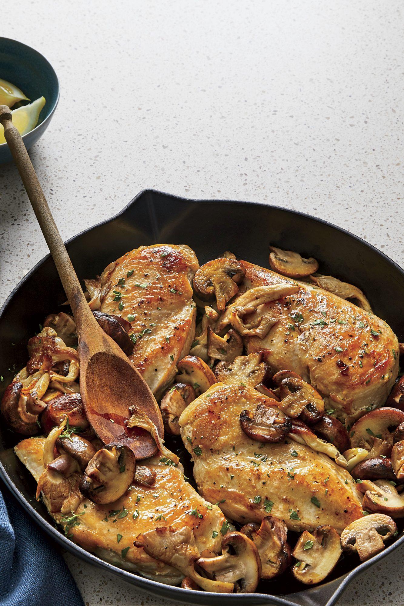 Chicken-Mushroom Skillet