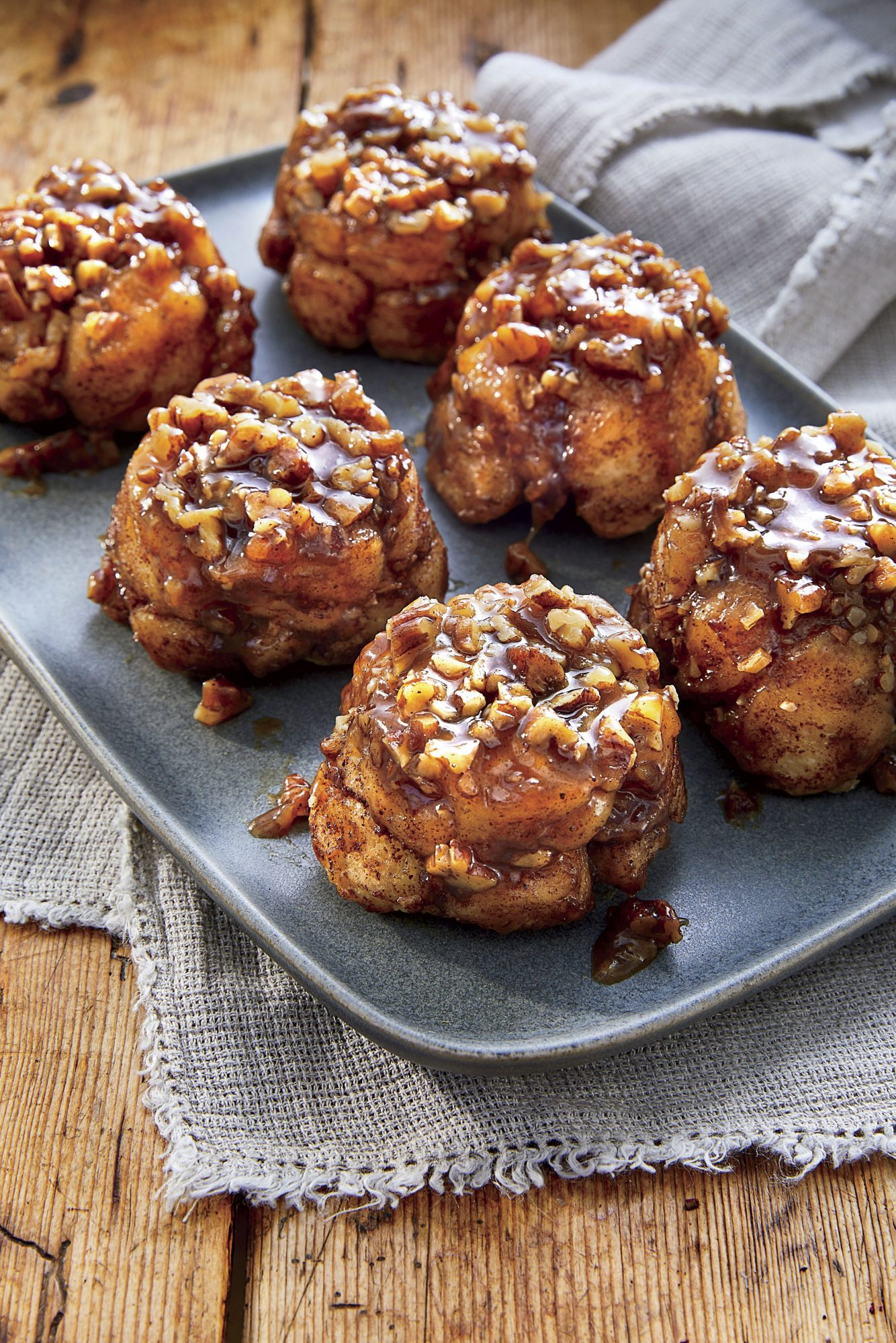 Sorghum-Pecan Monkey Bread Muffins