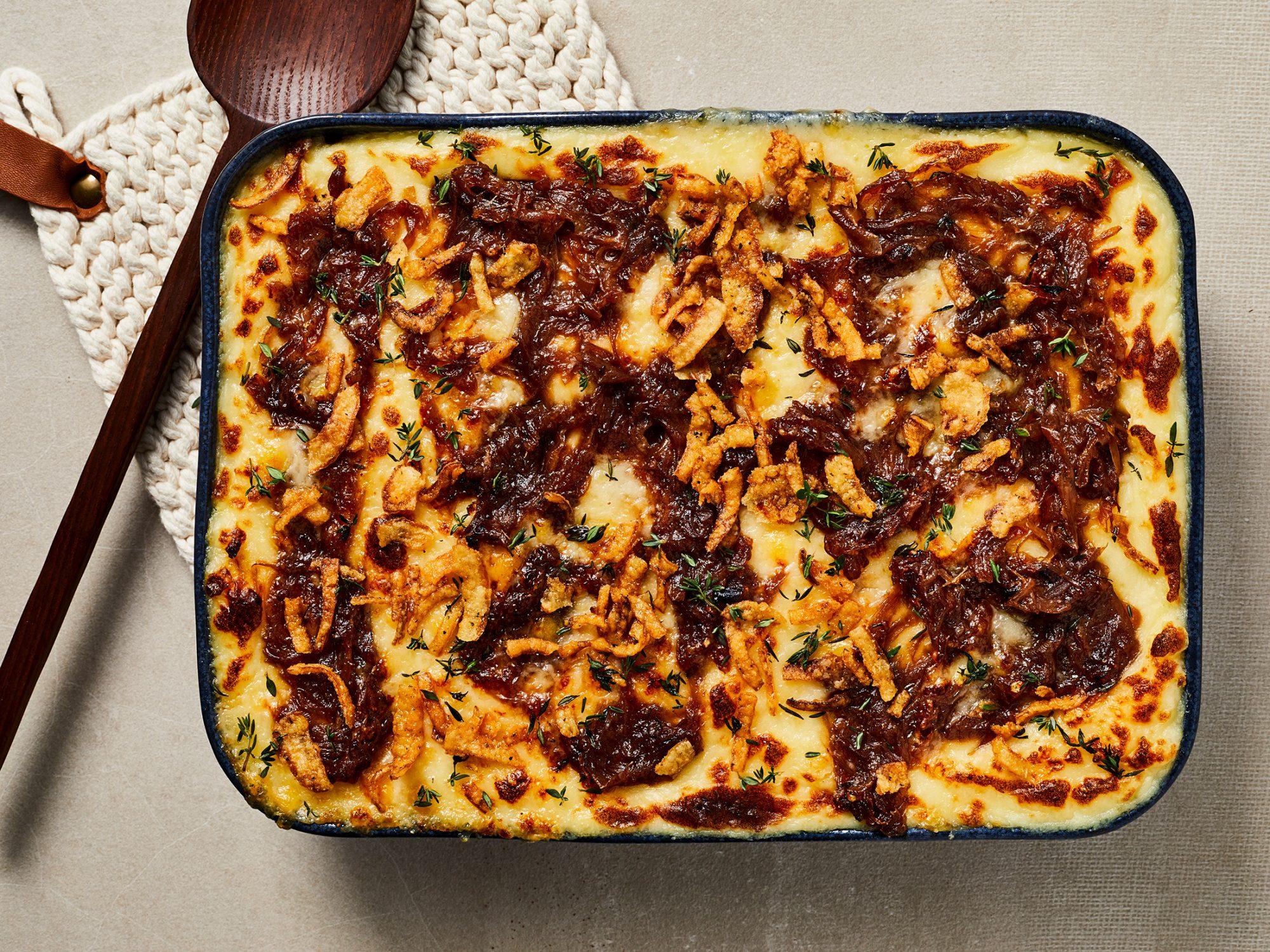 French Onion Mashed Potatoes image