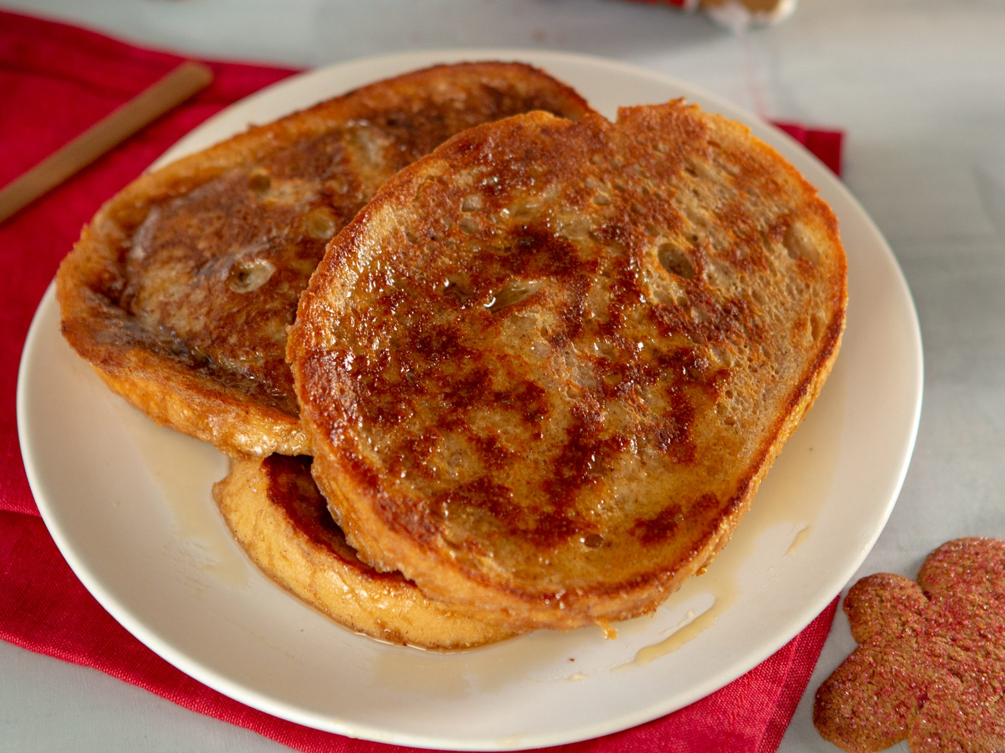 Gingerbread French Toast image