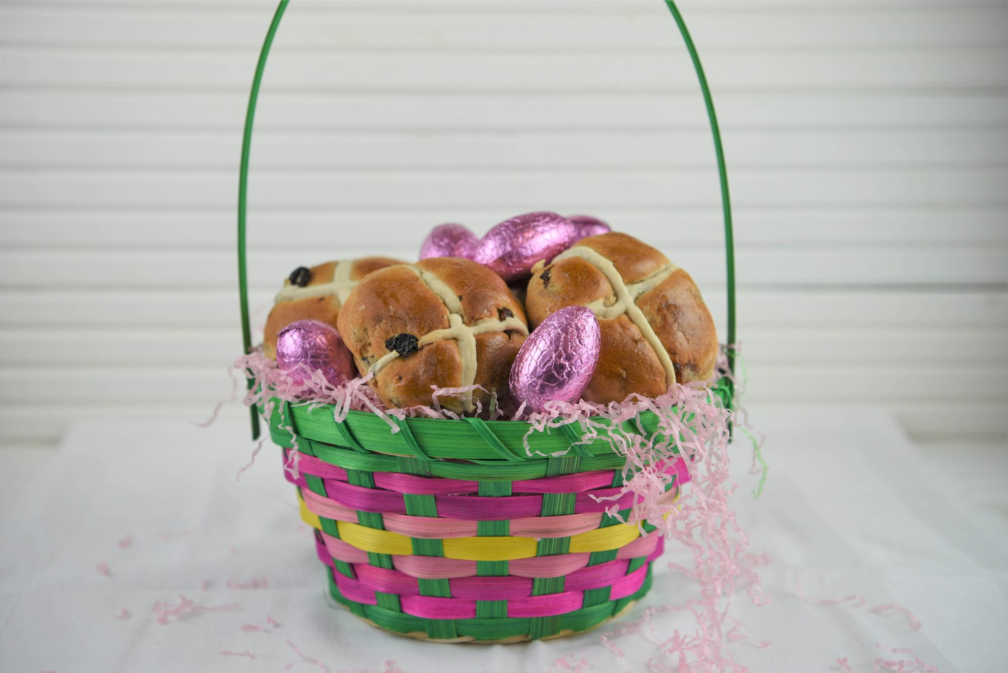 Hot Cross Buns Easter Basket Getty 12/18/19