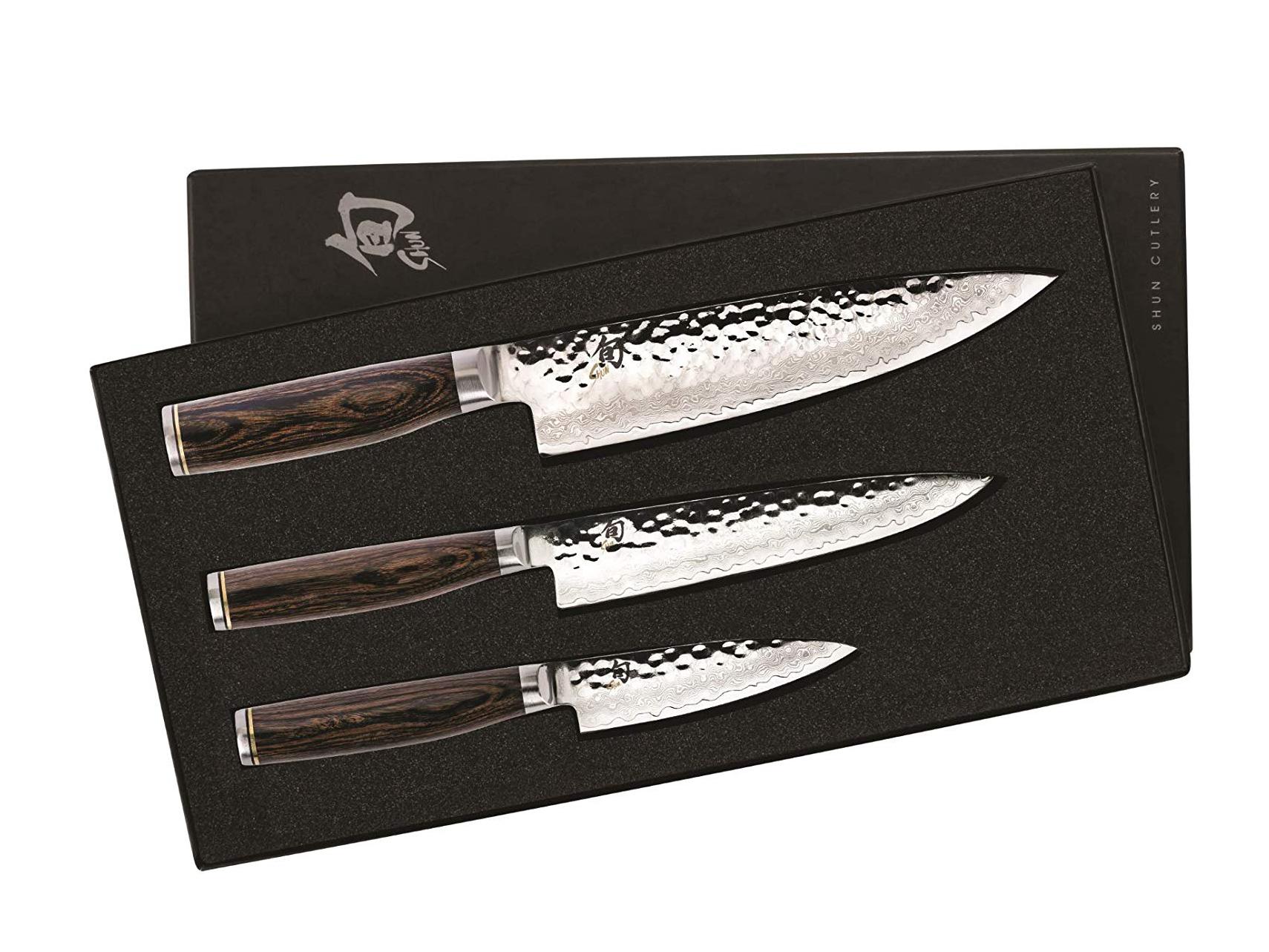 Amazon Shun Premier Kitchen Knife Starter Set 3 Piece