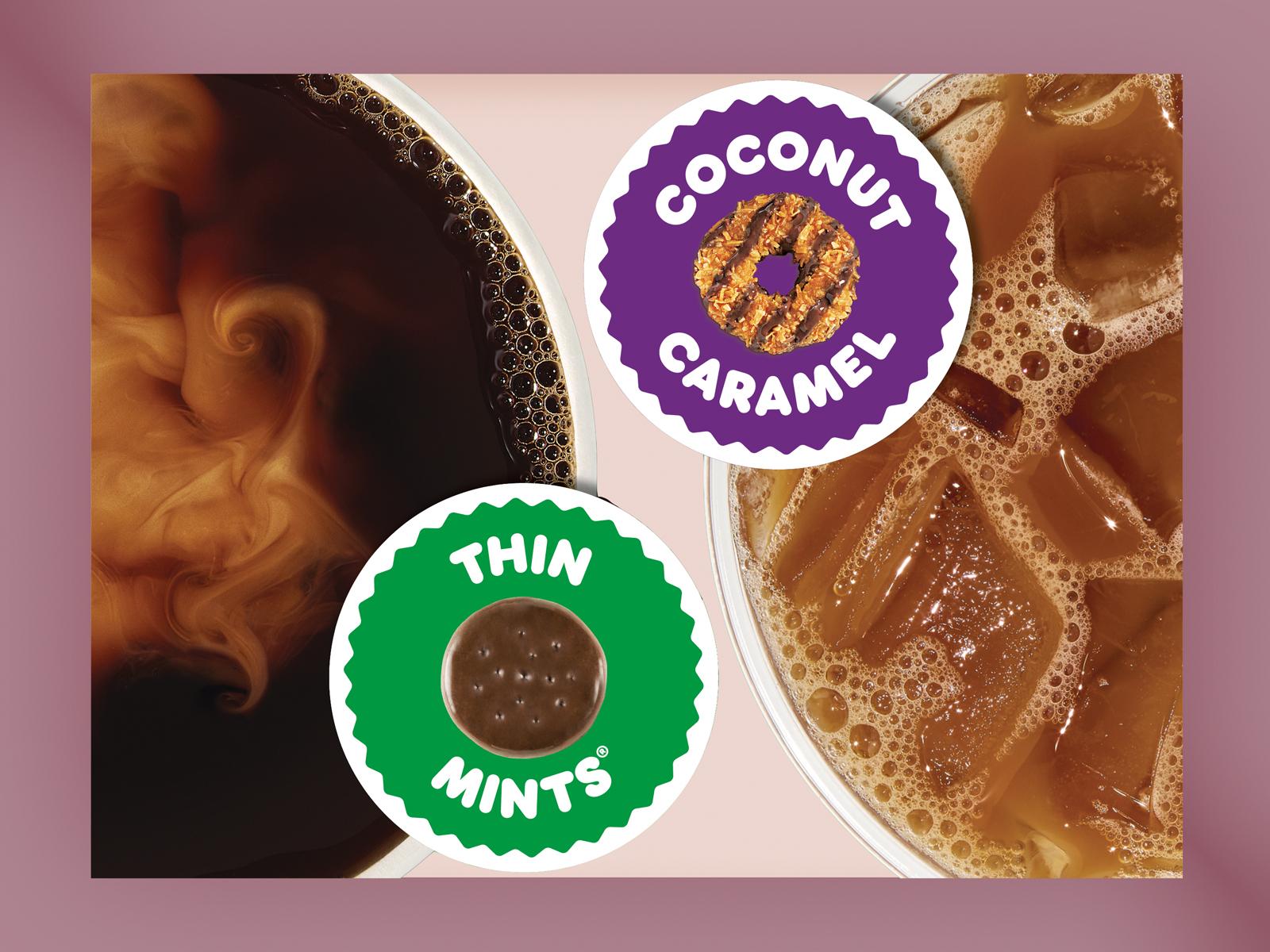 Dunkin' x Girl Scouts Coffee