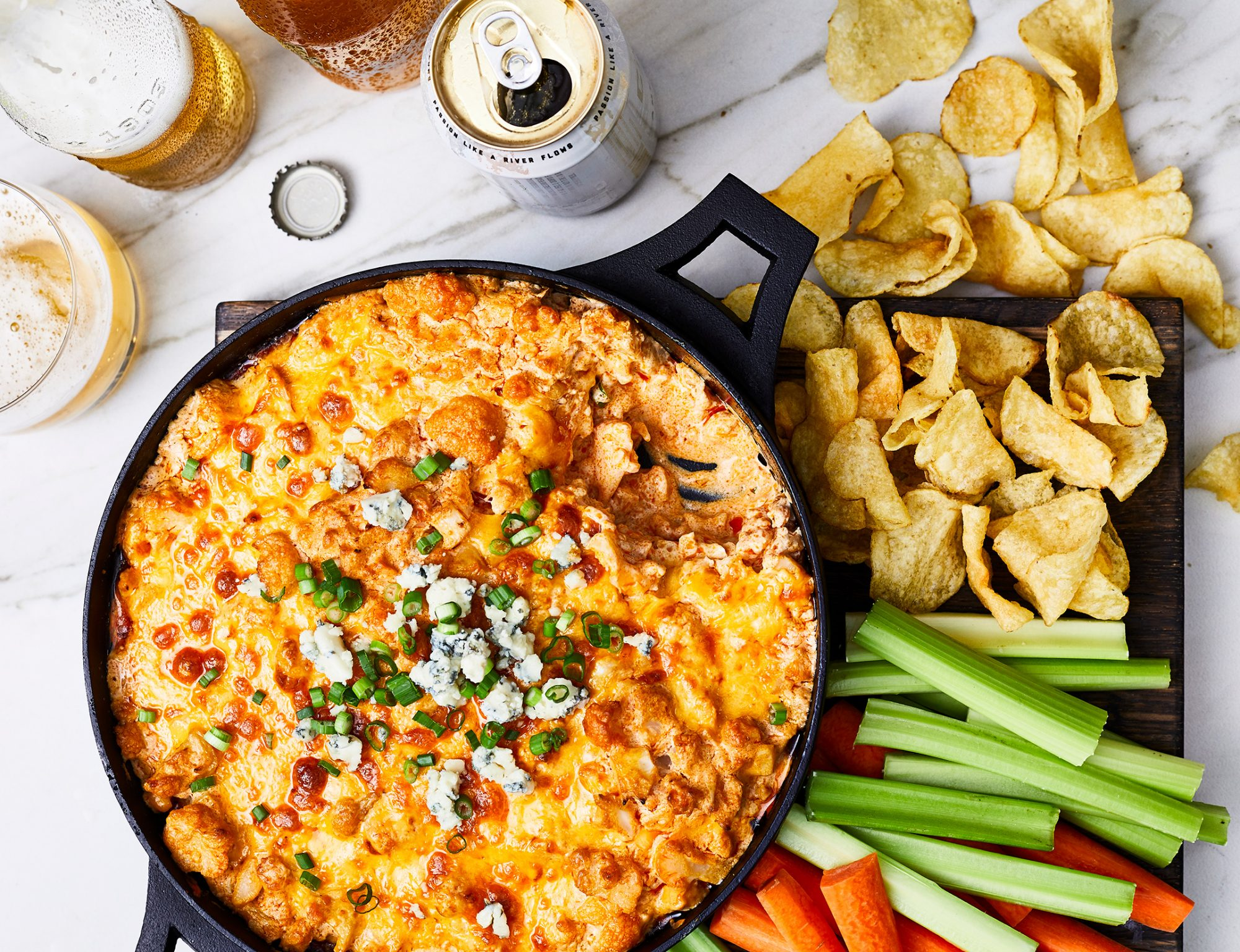 Buffalo Cauliflower Dip image