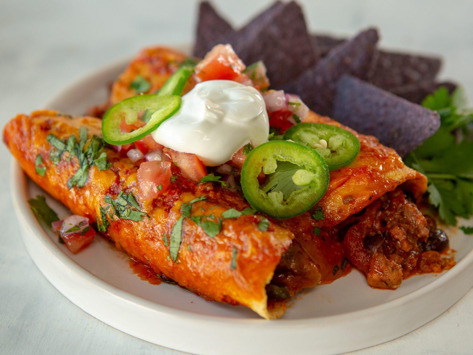 Beyond Beef Enchiladas image