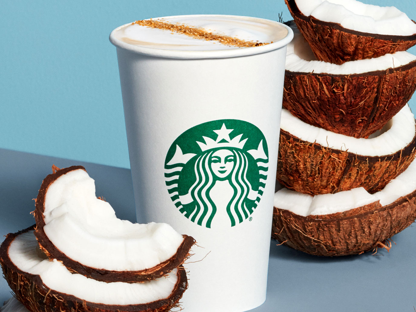 Starbucks non-dairy drinks
