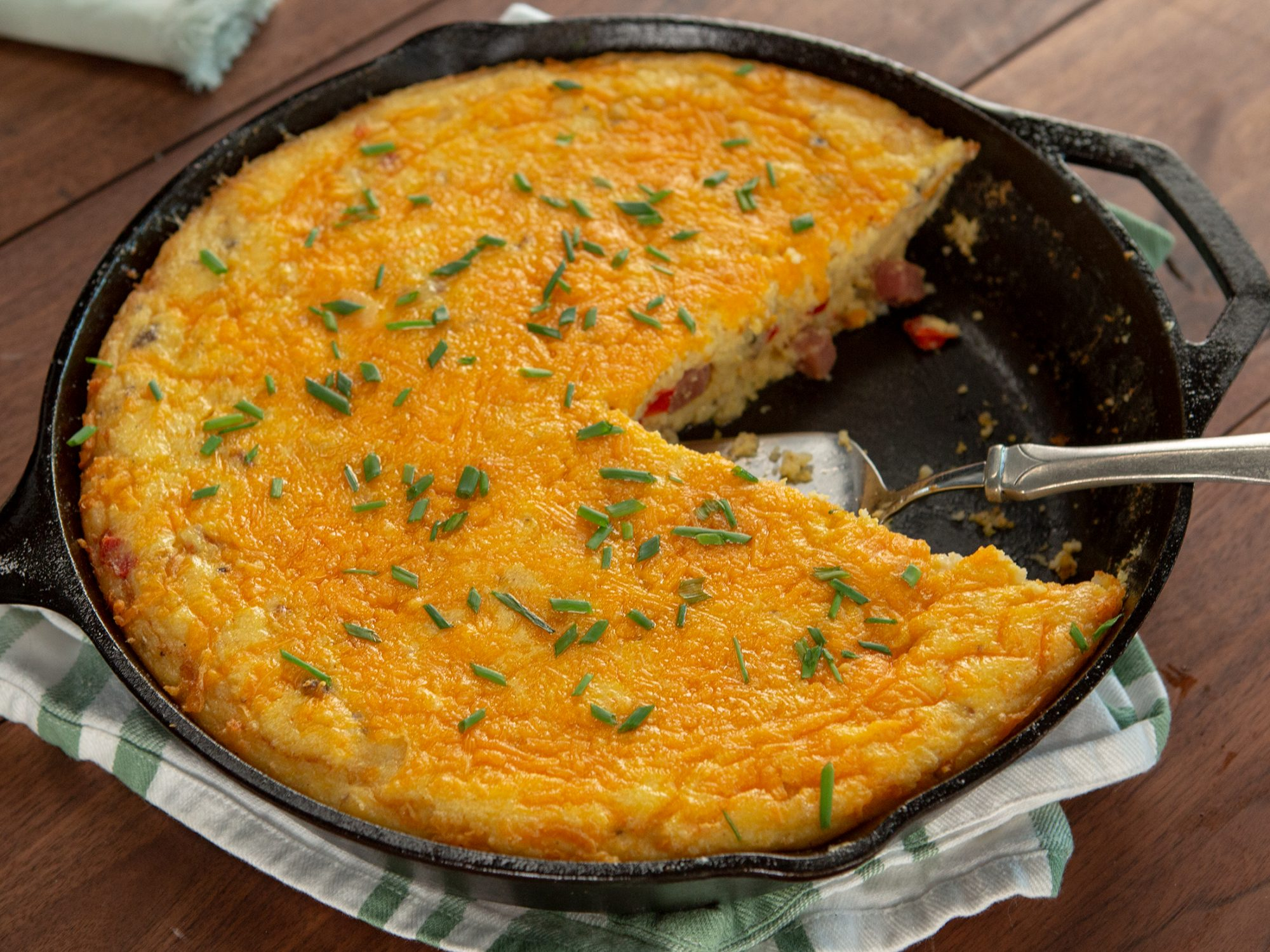 Denver Omelette Breakfast Casserole image
