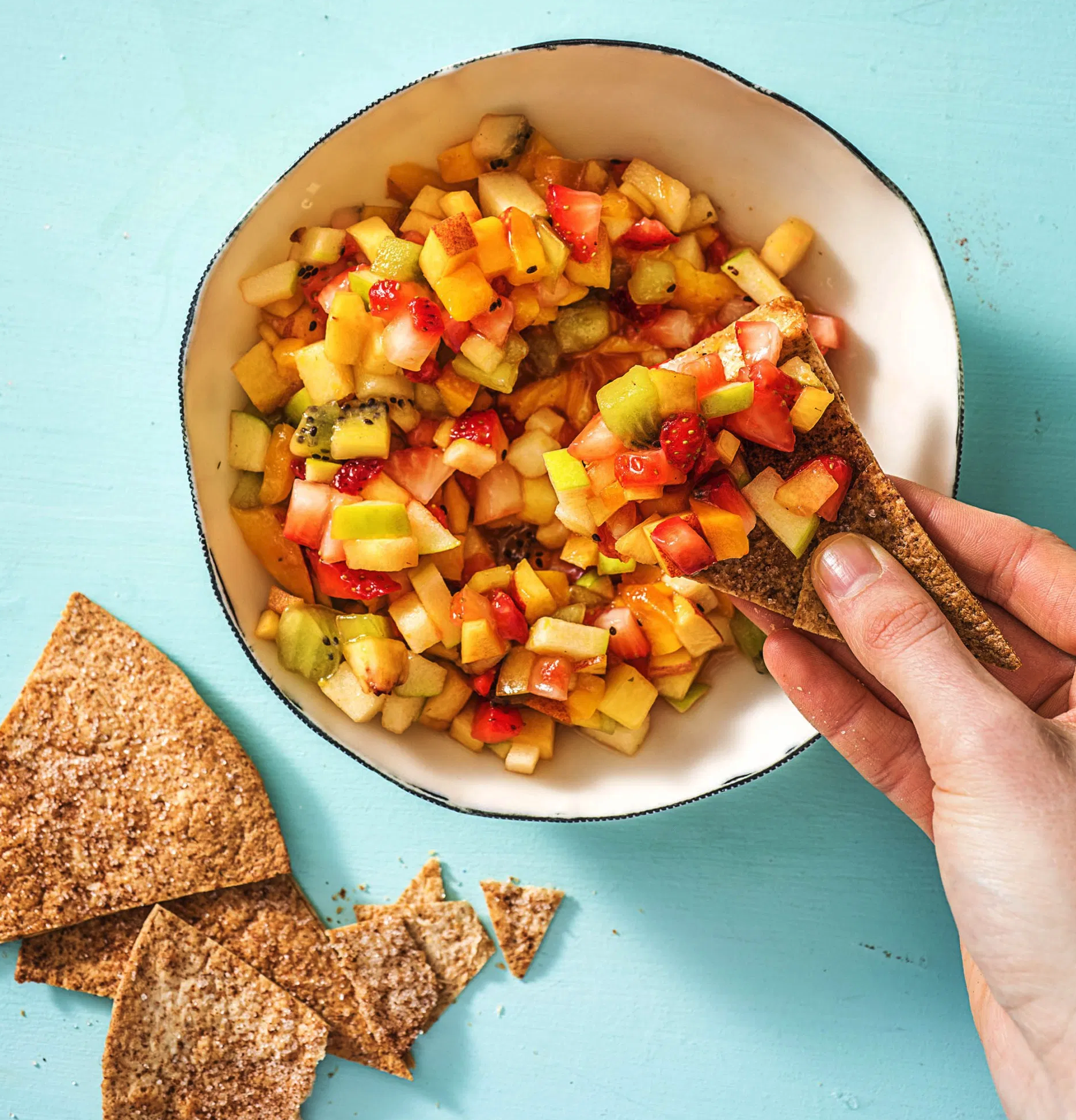 HelloFresh Fruit Salsa