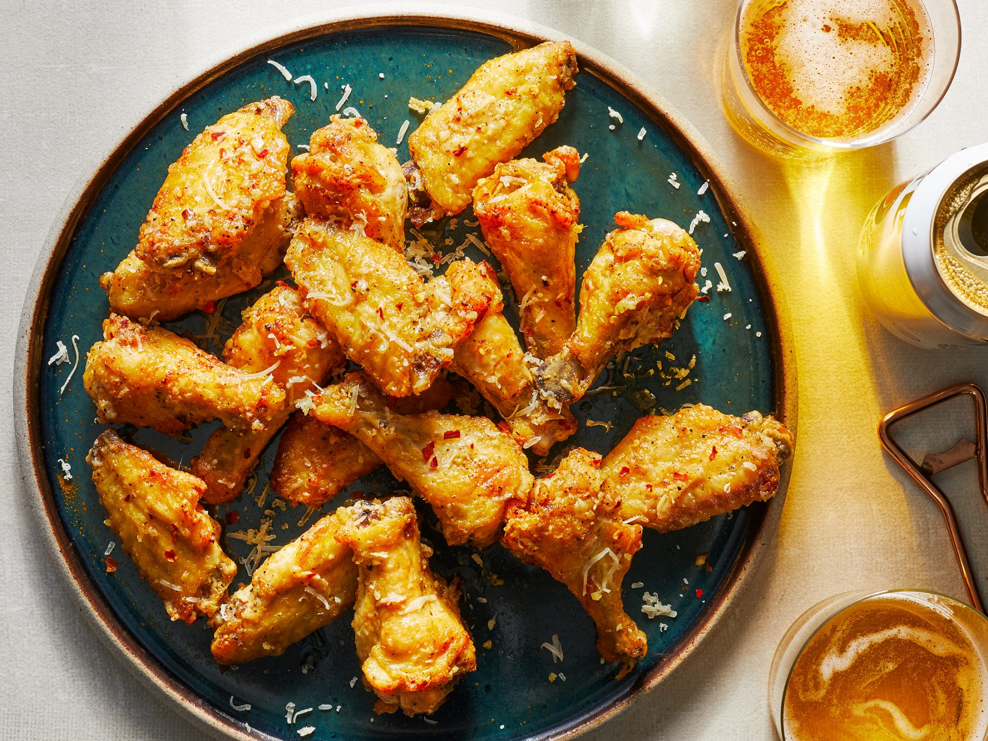 Garlic Parmesan Wings image