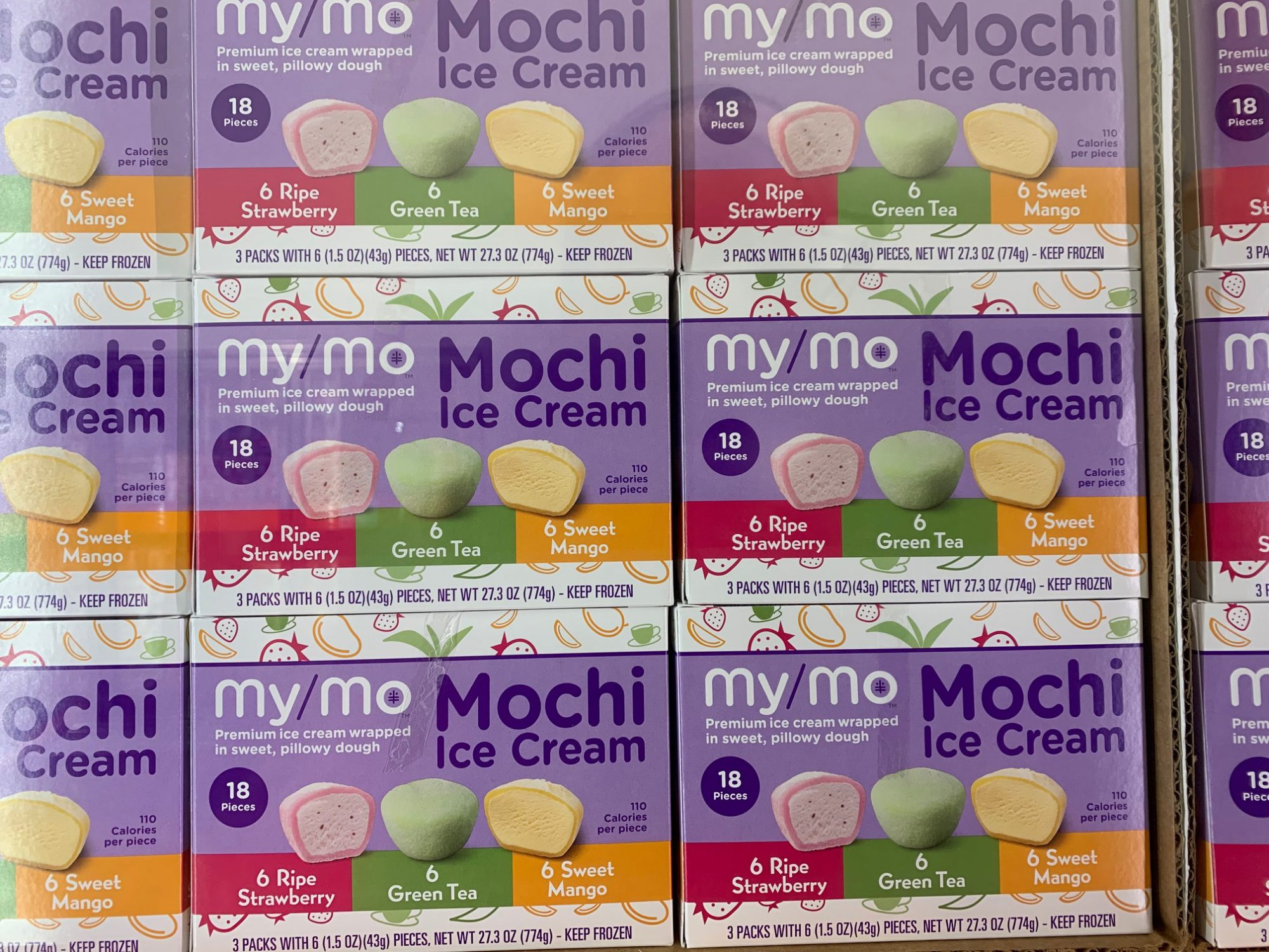 Mini Mochi Ice Cream Balls