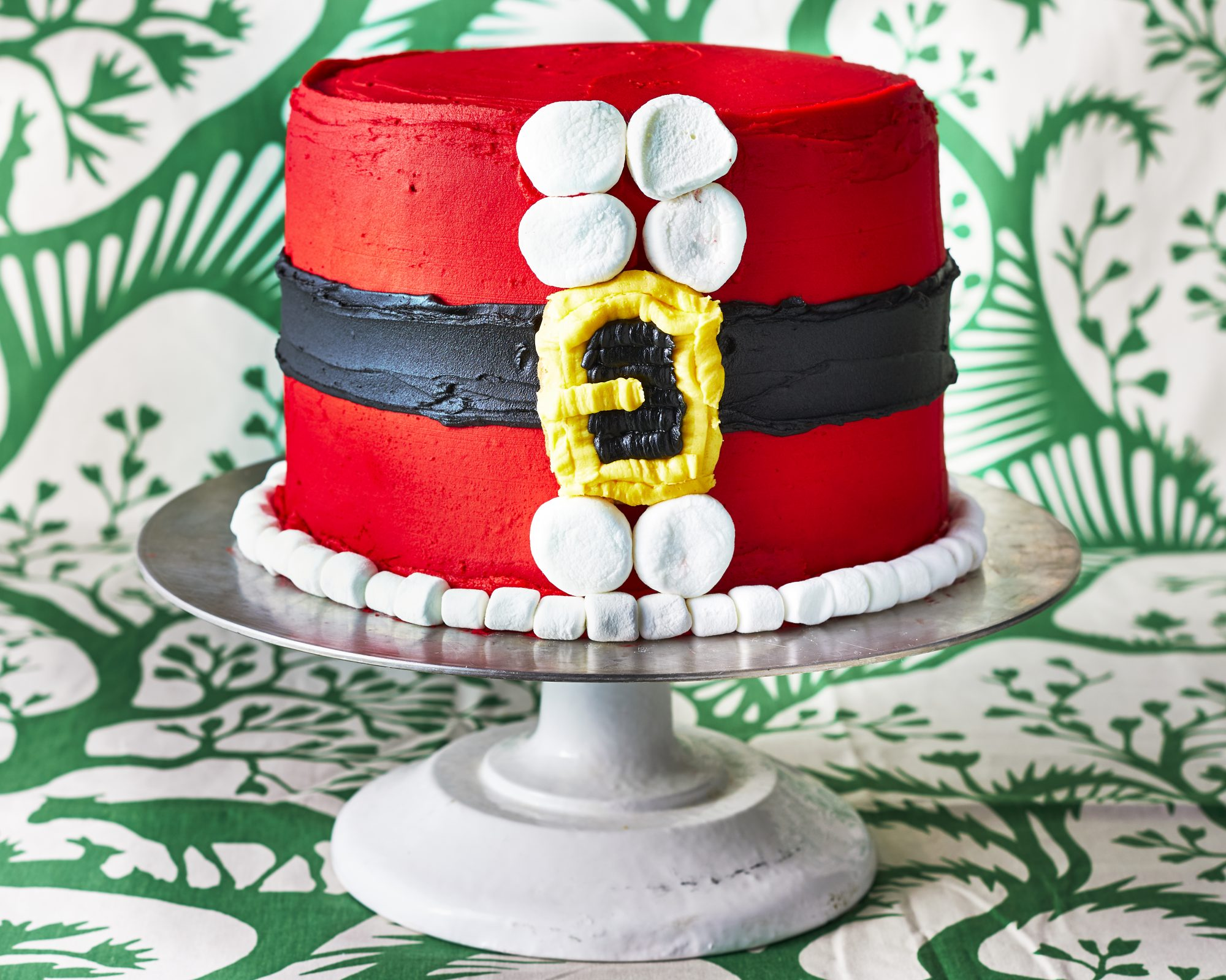 Santa Belt Cake image