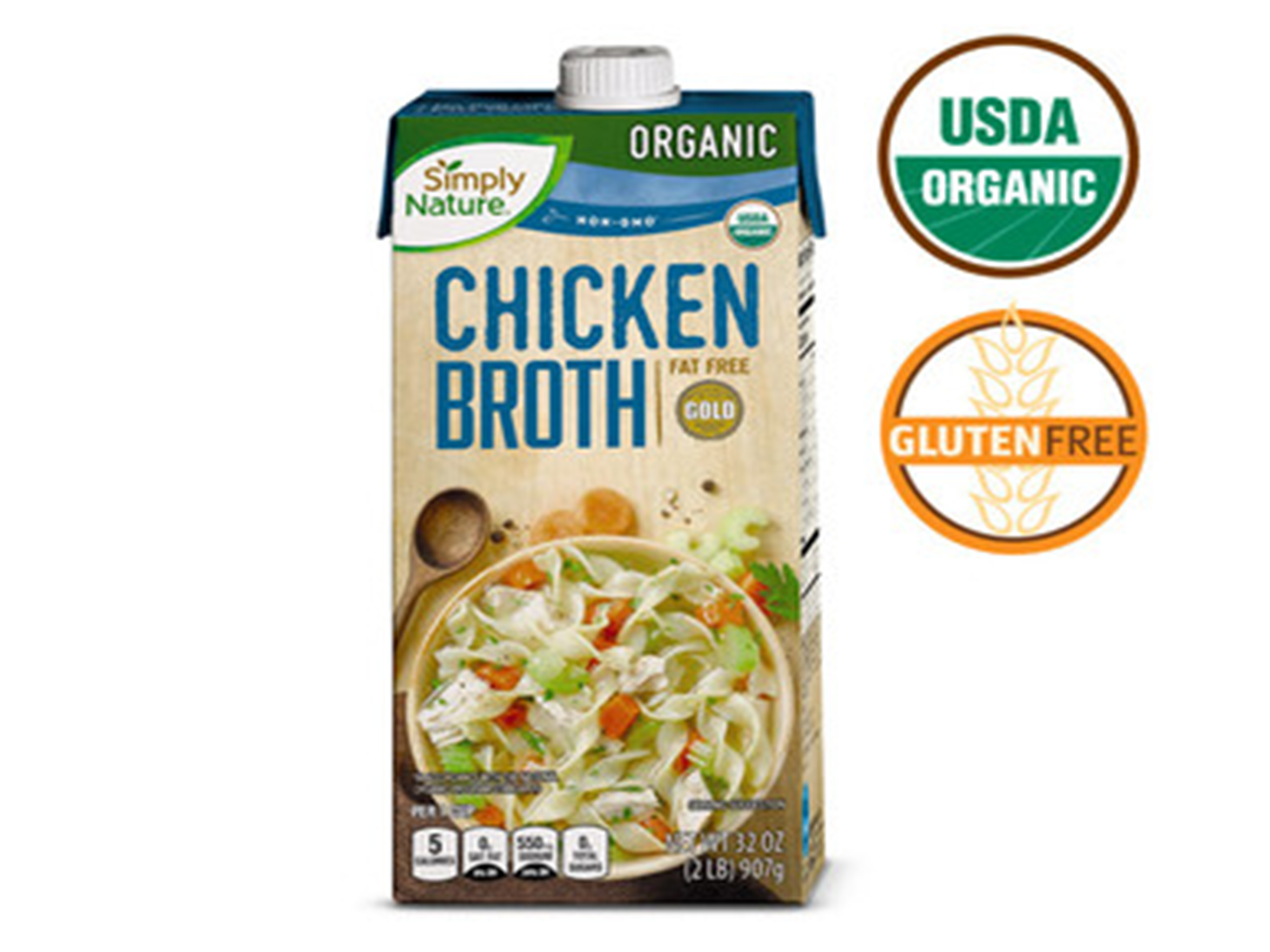 Favorite Pantry Staple: Simply Nature Organic Chicken Broth or Low Sodium Chicken Broth