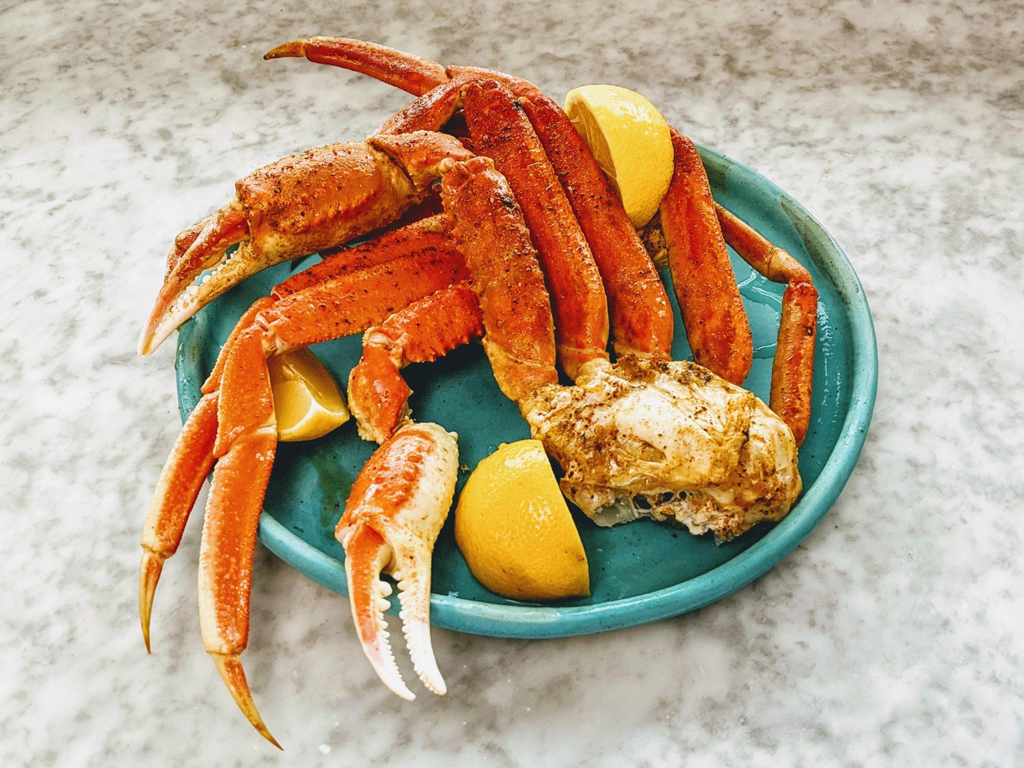 Easy Baked Crab Legs Recipe Myrecipes