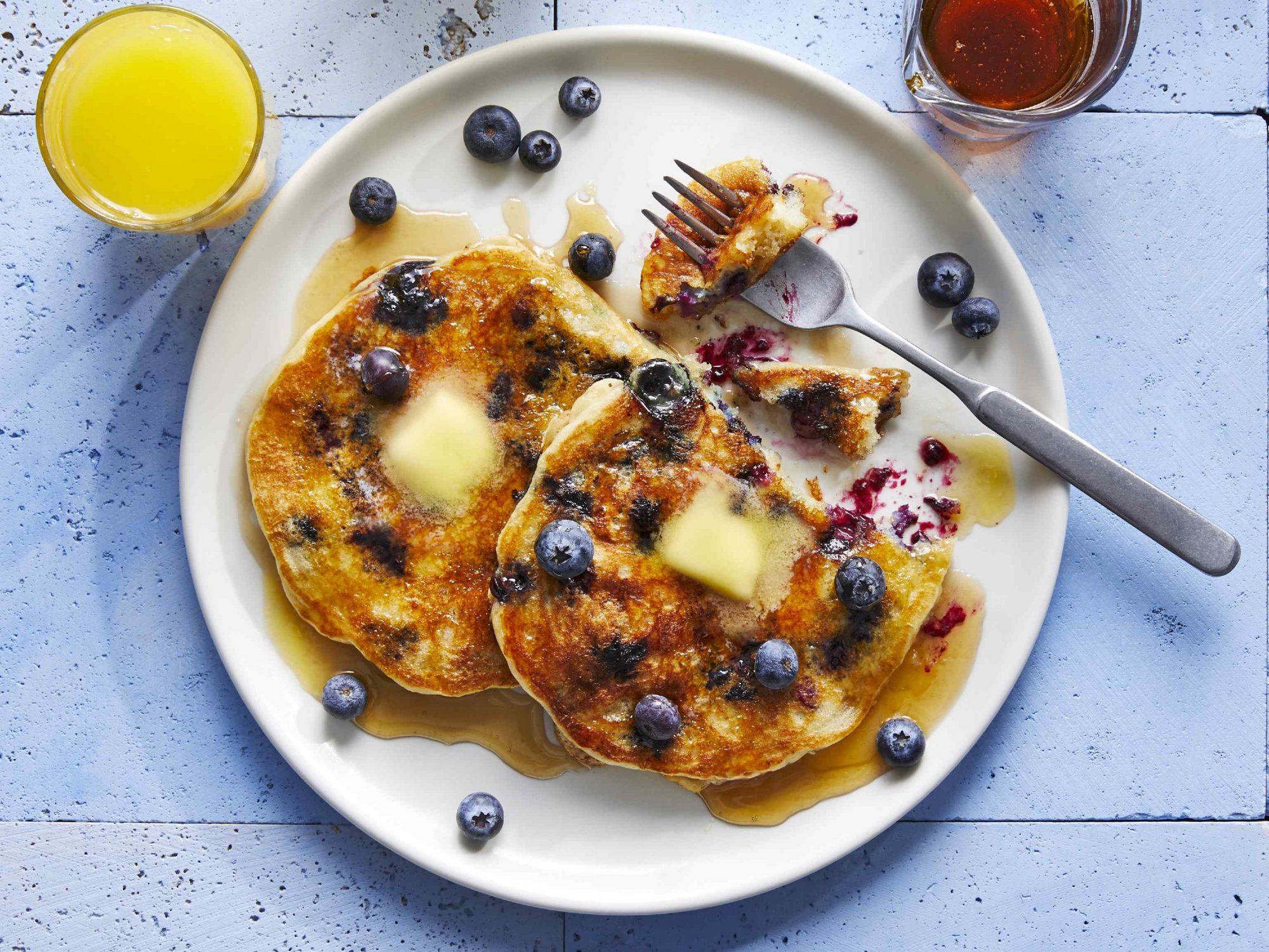 mr - Blueberry Pancakes Image