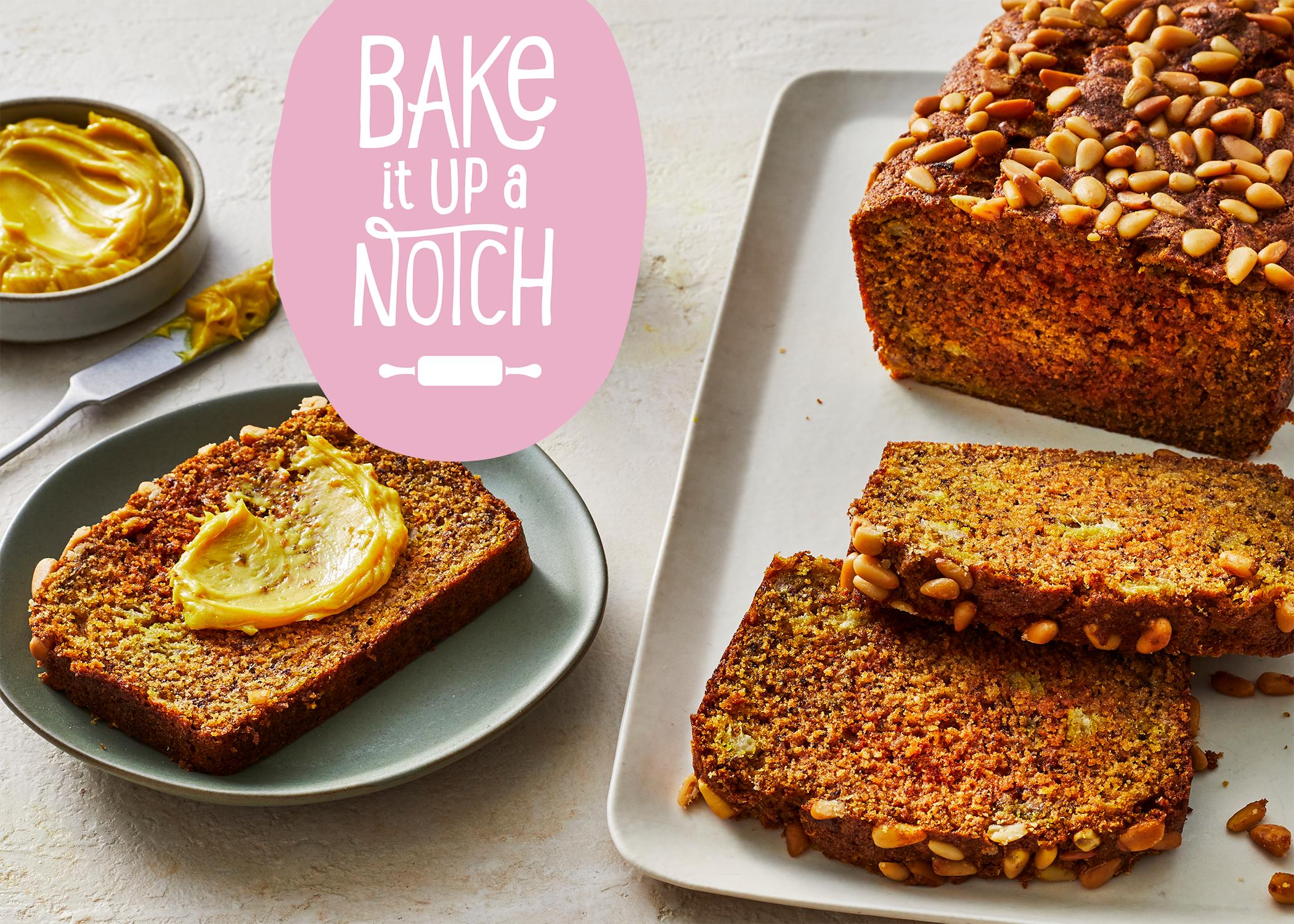 Bake It Up a Notch Turmeric Banana Bread image