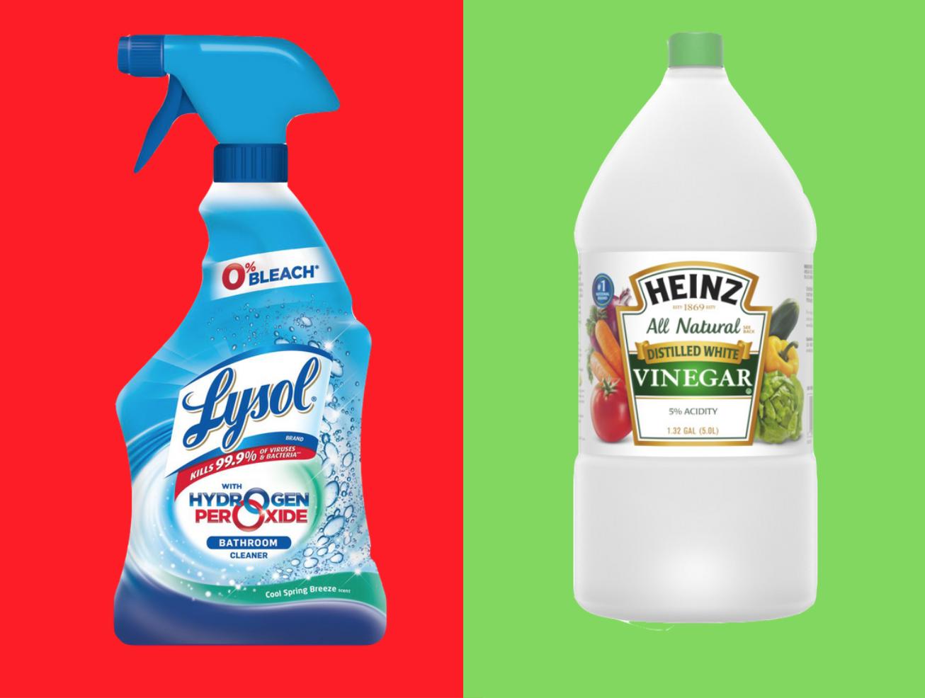 Hydrogen Peroxide/Vinegar