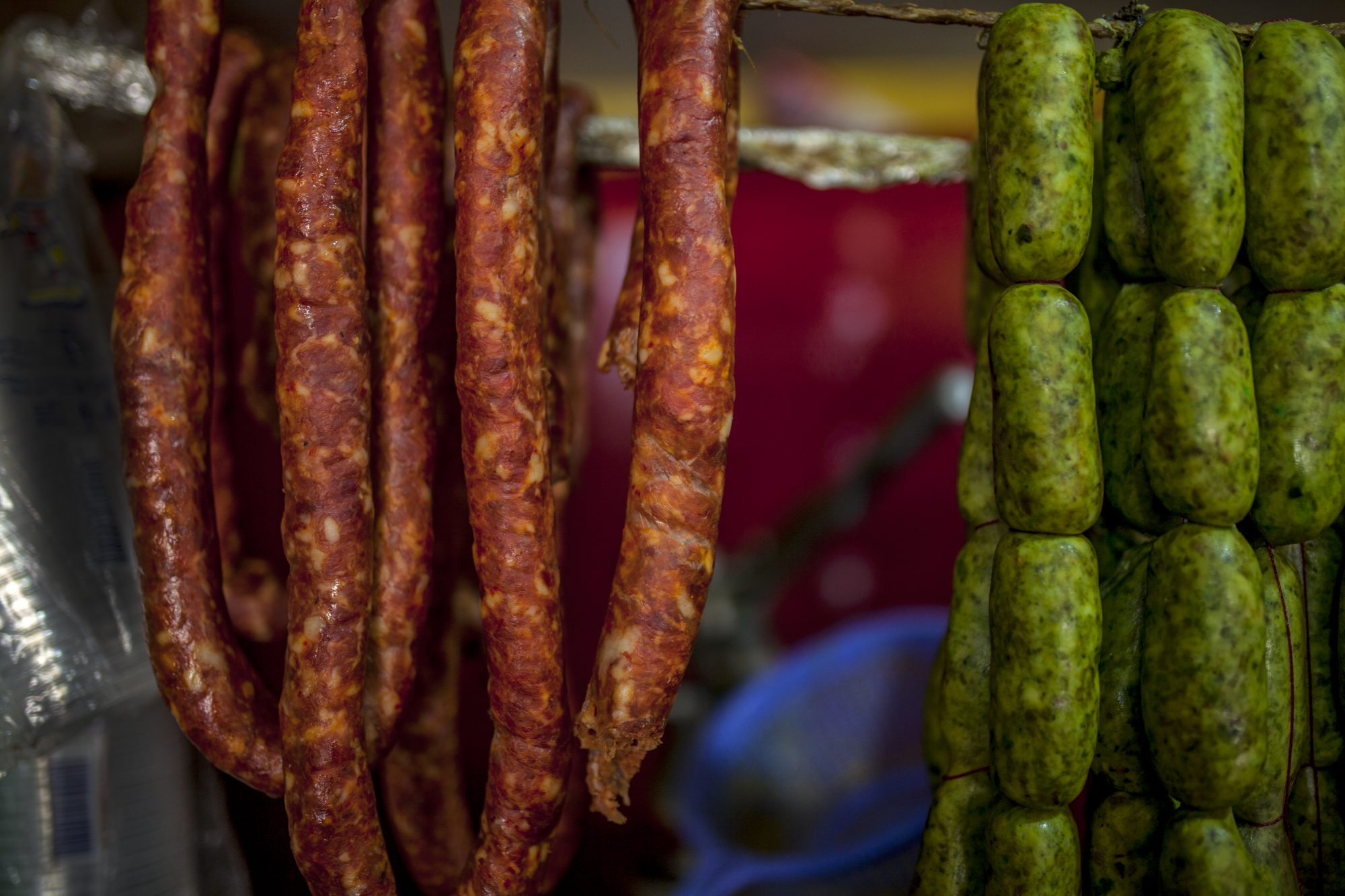 Green Chorizo Getty 3/19/20