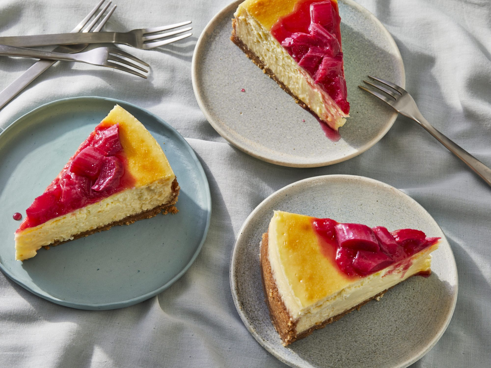 mr - Rhubarb Cheesecake Image